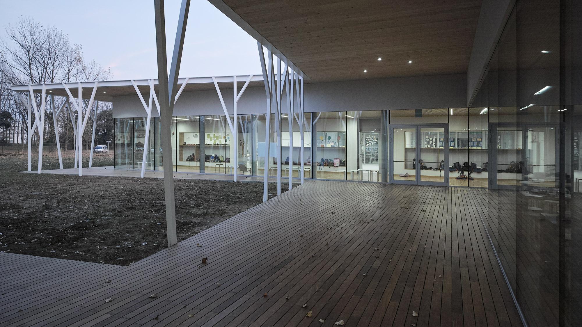 Scuola primaria e ampliamento dell'asilo © Adriano Marangon