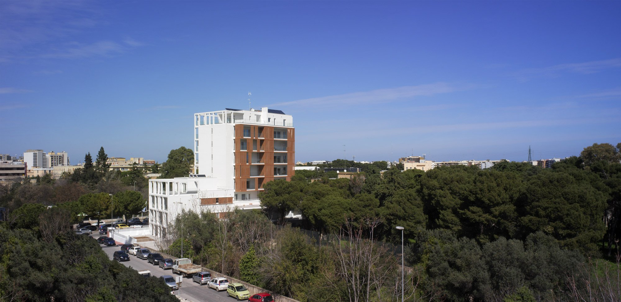 Edificio residenziale Omodeo 57 © Alberto Muciaccia