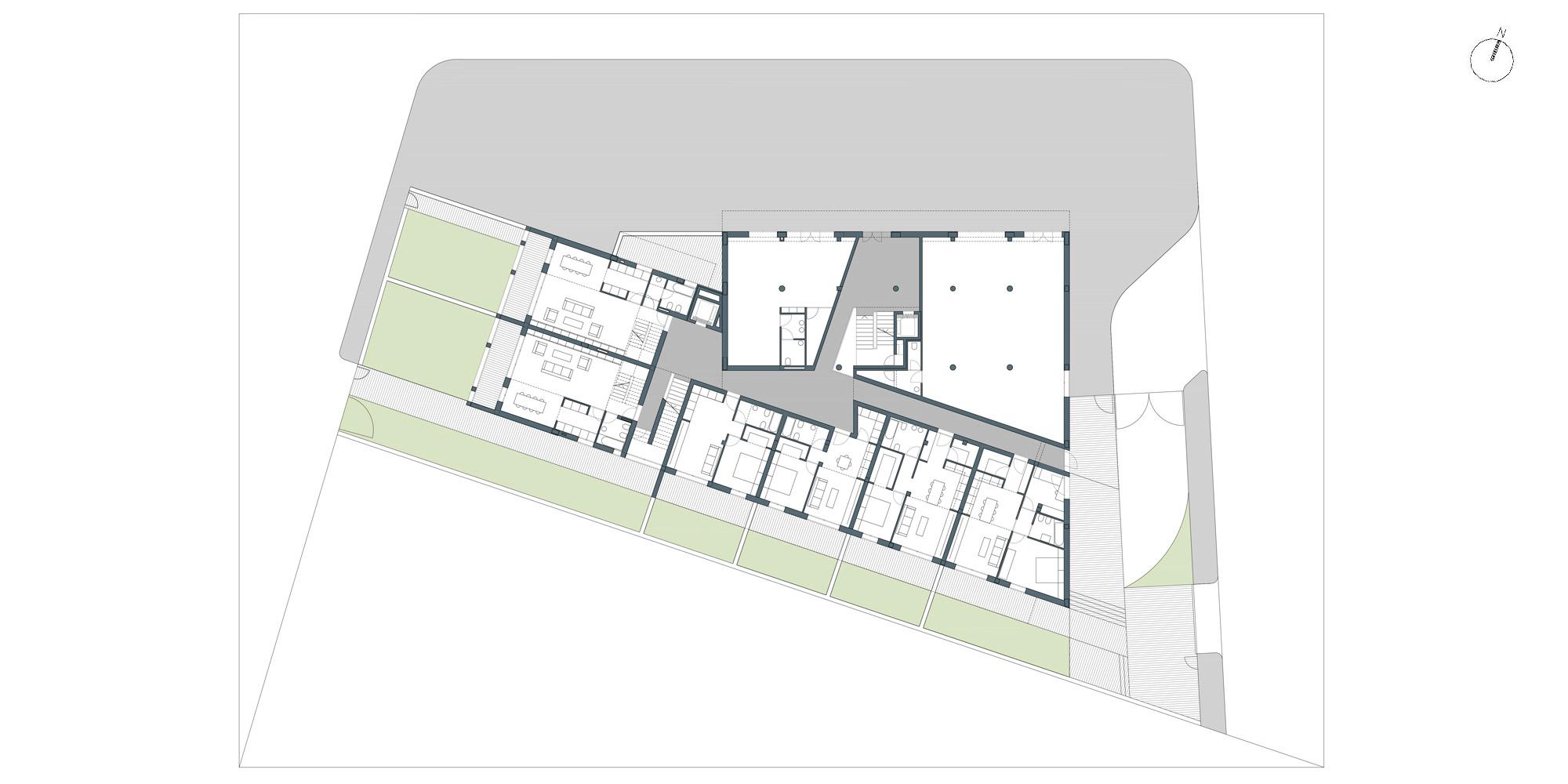 Pianta piano terra © Netti Architetti