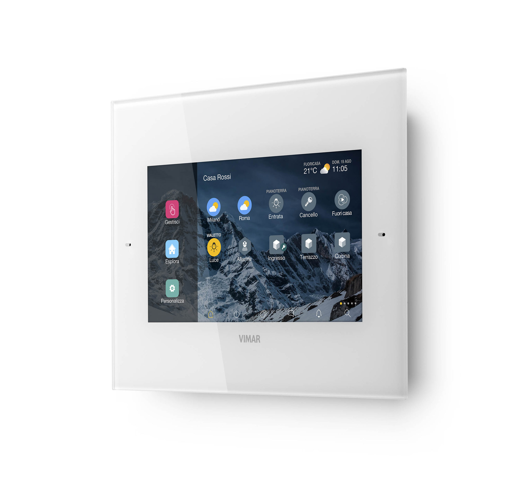 View IoT Smart Systems Courtesy Vimar