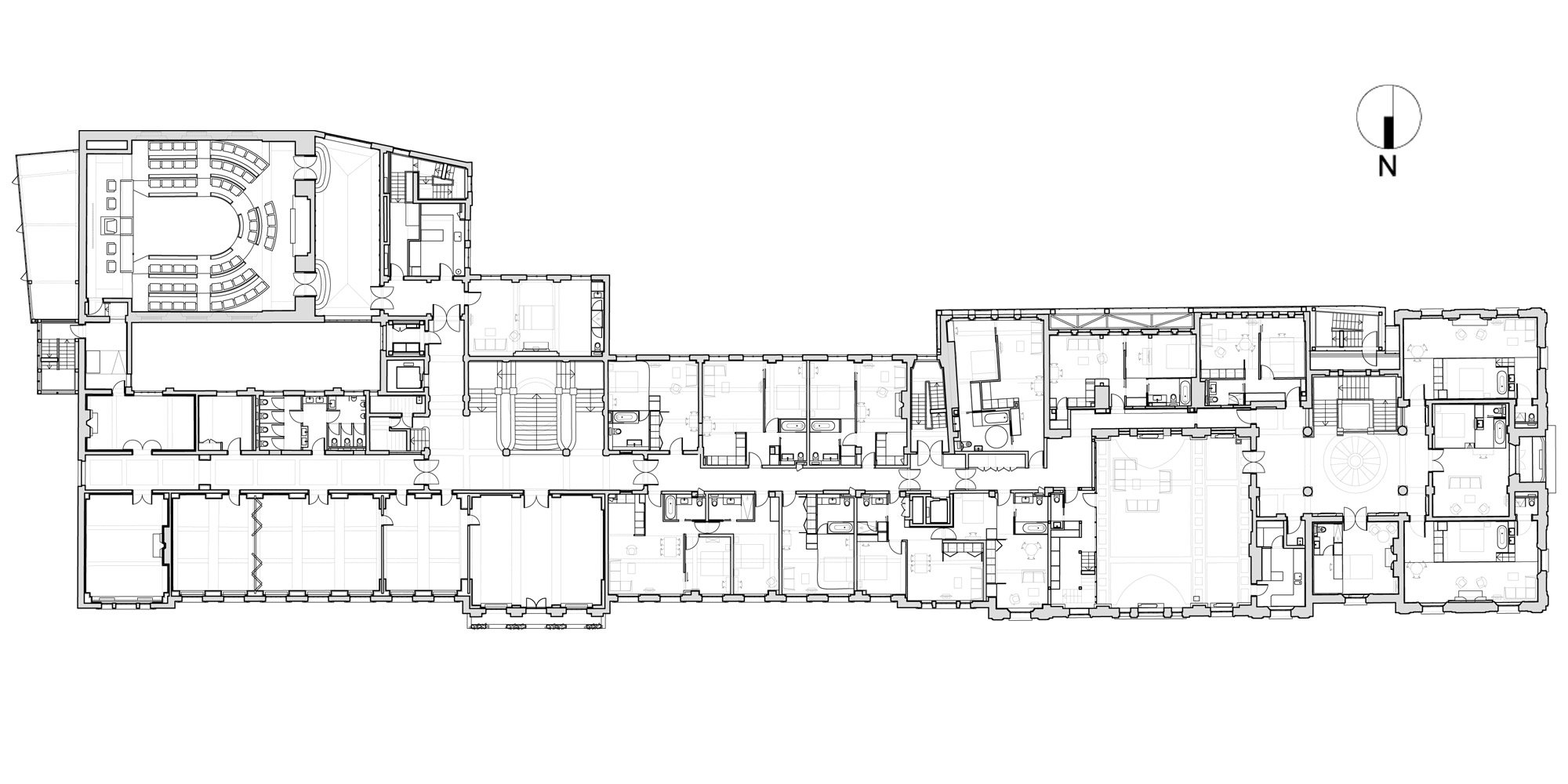 First floor plan © DROO+NAME