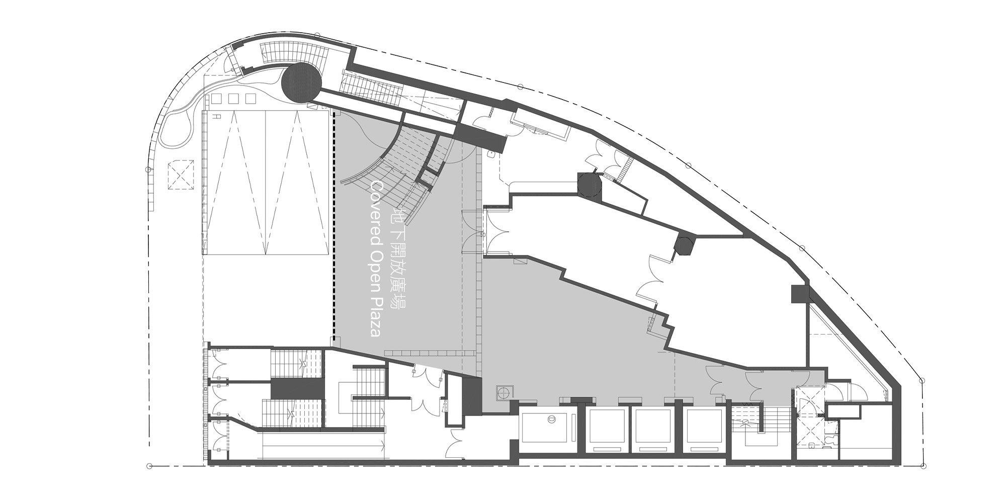 Pianta Piano Primo © Rocco Design Architects Associates