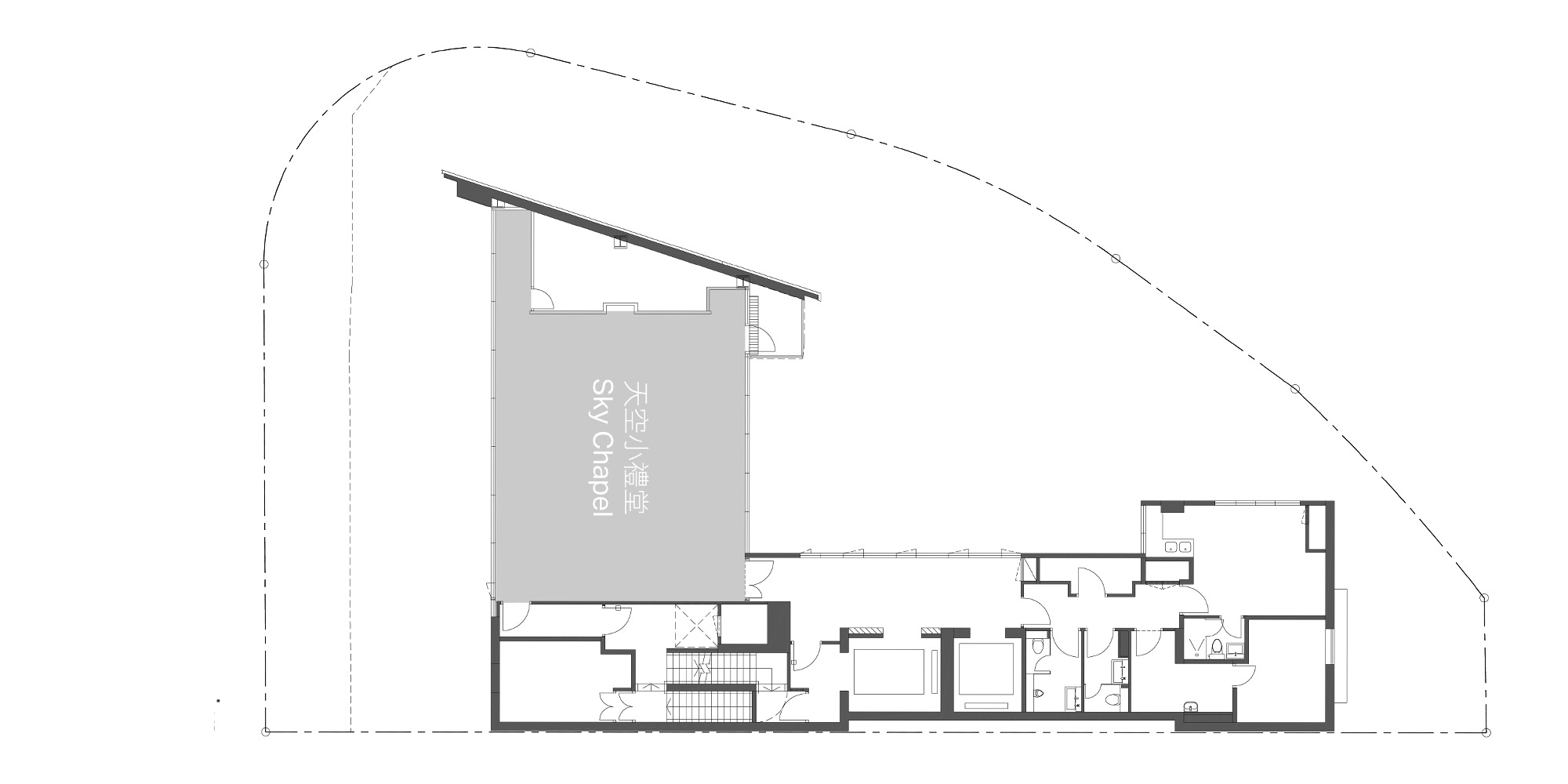 Pianta Piano Ventiduesimo © Rocco Design Architects Associates