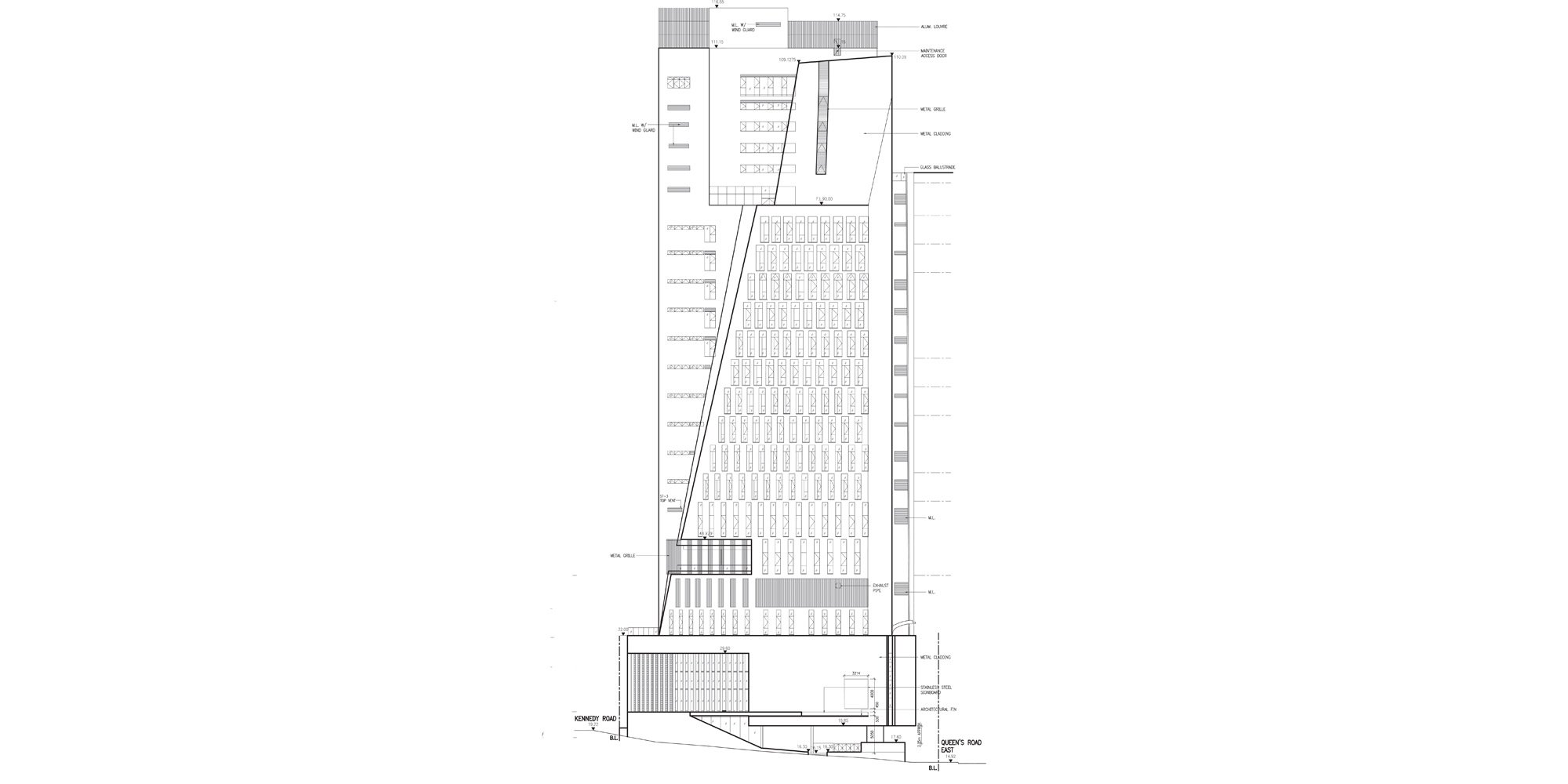 Prospetto Est © Rocco Design Architects Associates