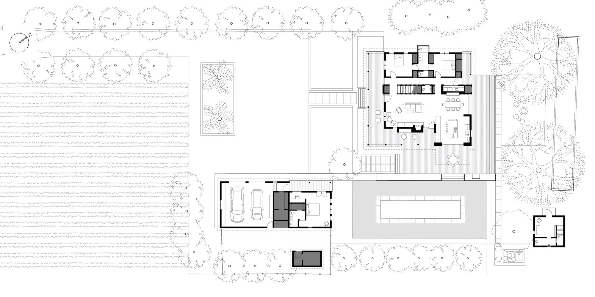 First Floor Plan © Bohlin Cywinski Jackson