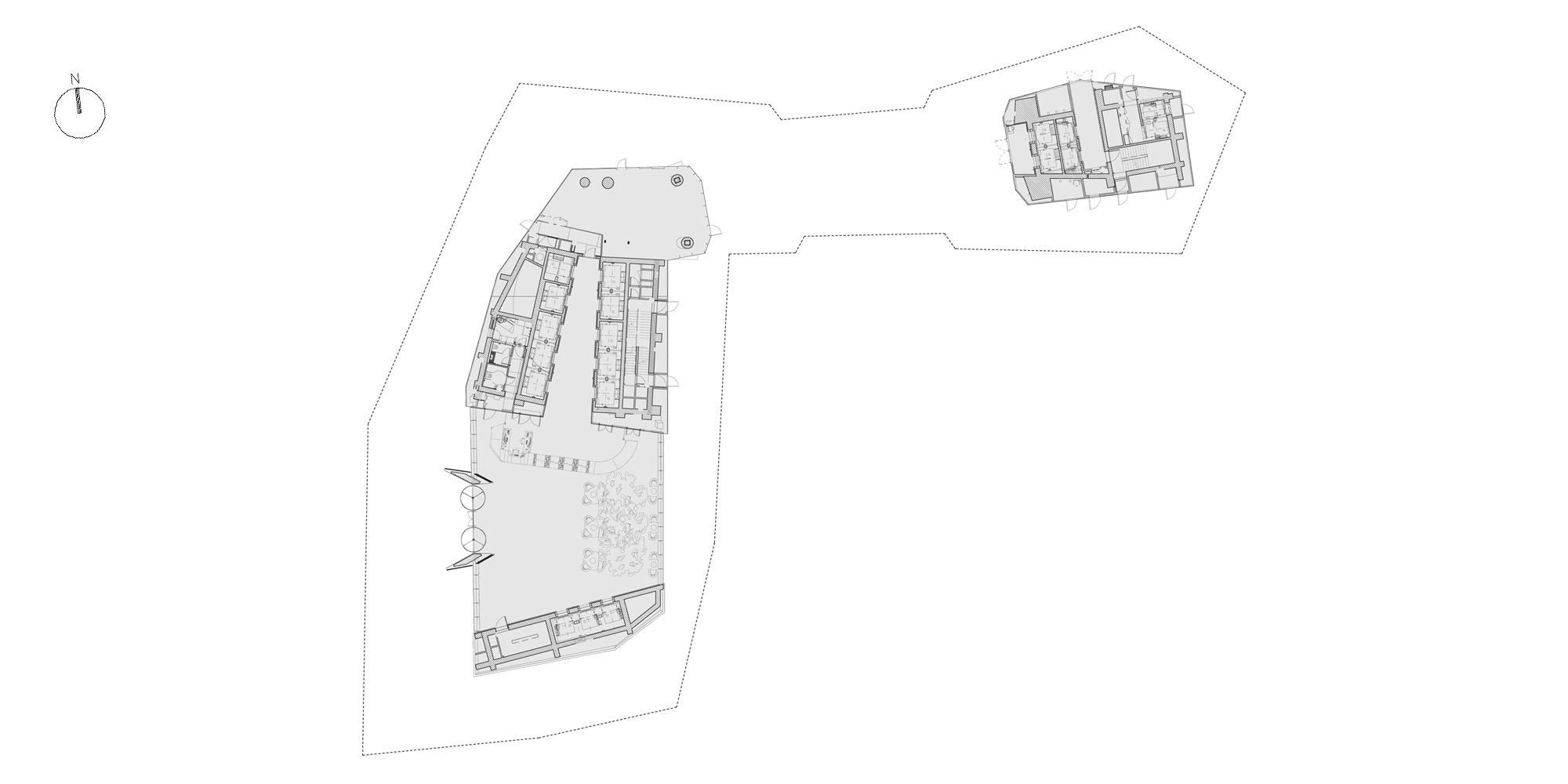 Pianta piano terra © Ron Arad Architects