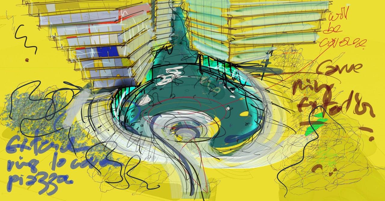 Concept © Ron Arad Architects