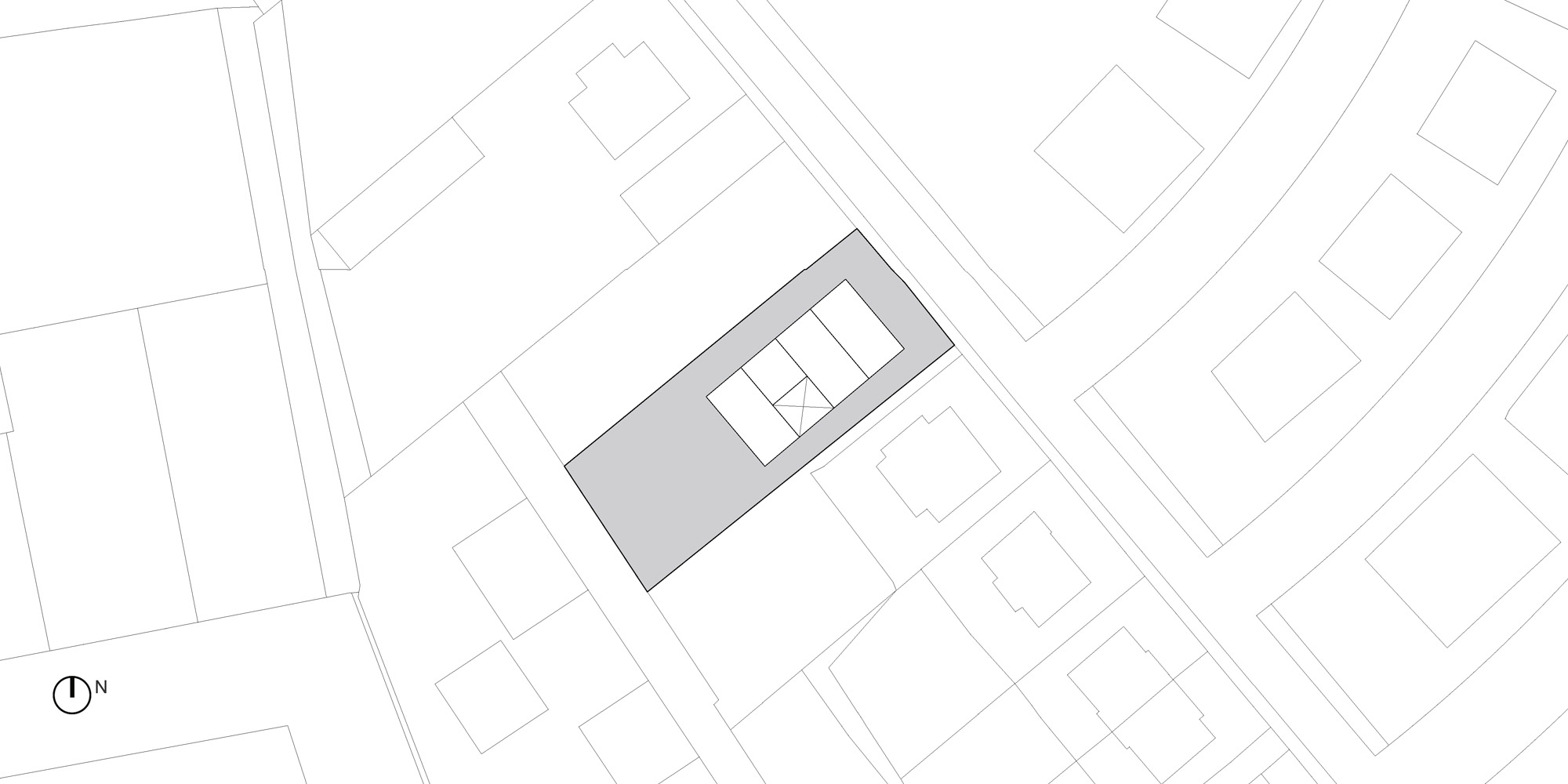 Site plan © OFIS architekti