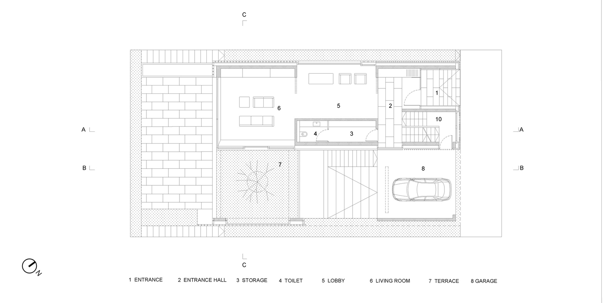 Ground floor plan © OFIS architekti