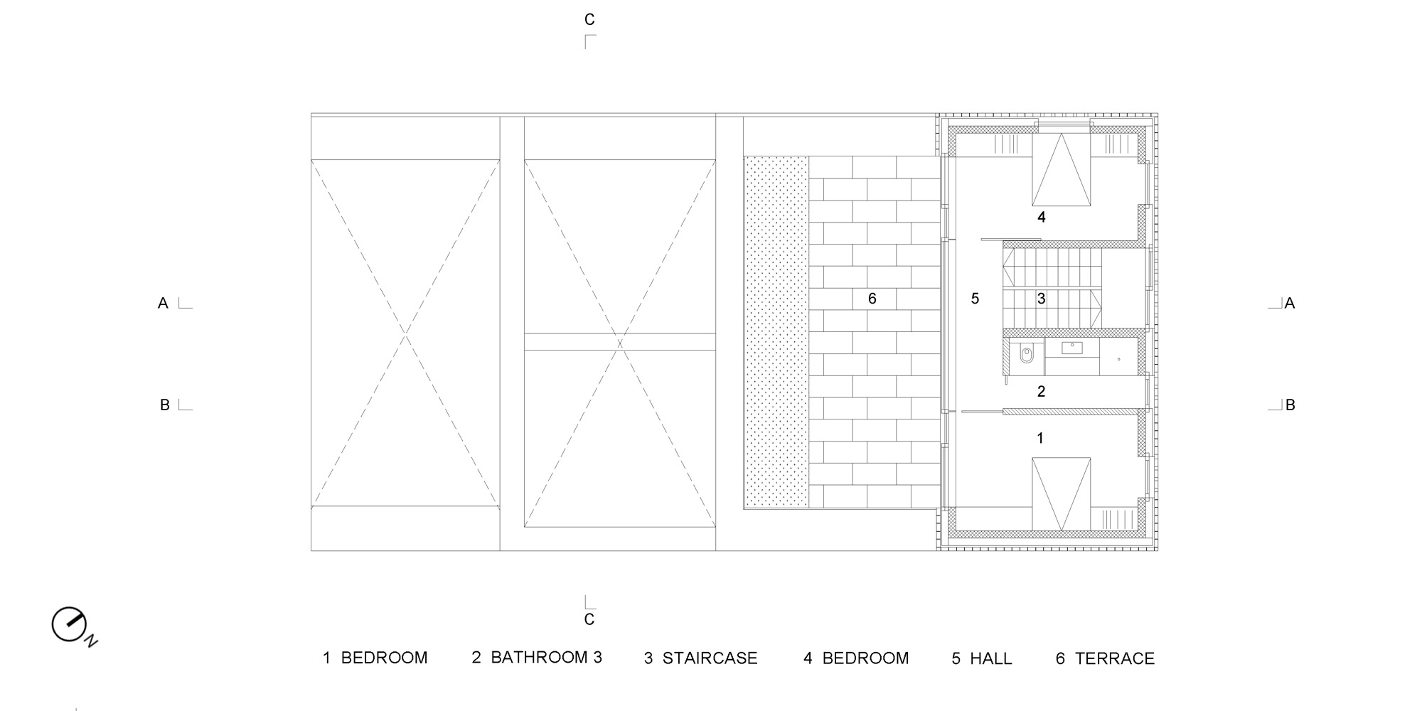 Second floor plan © OFIS architekti