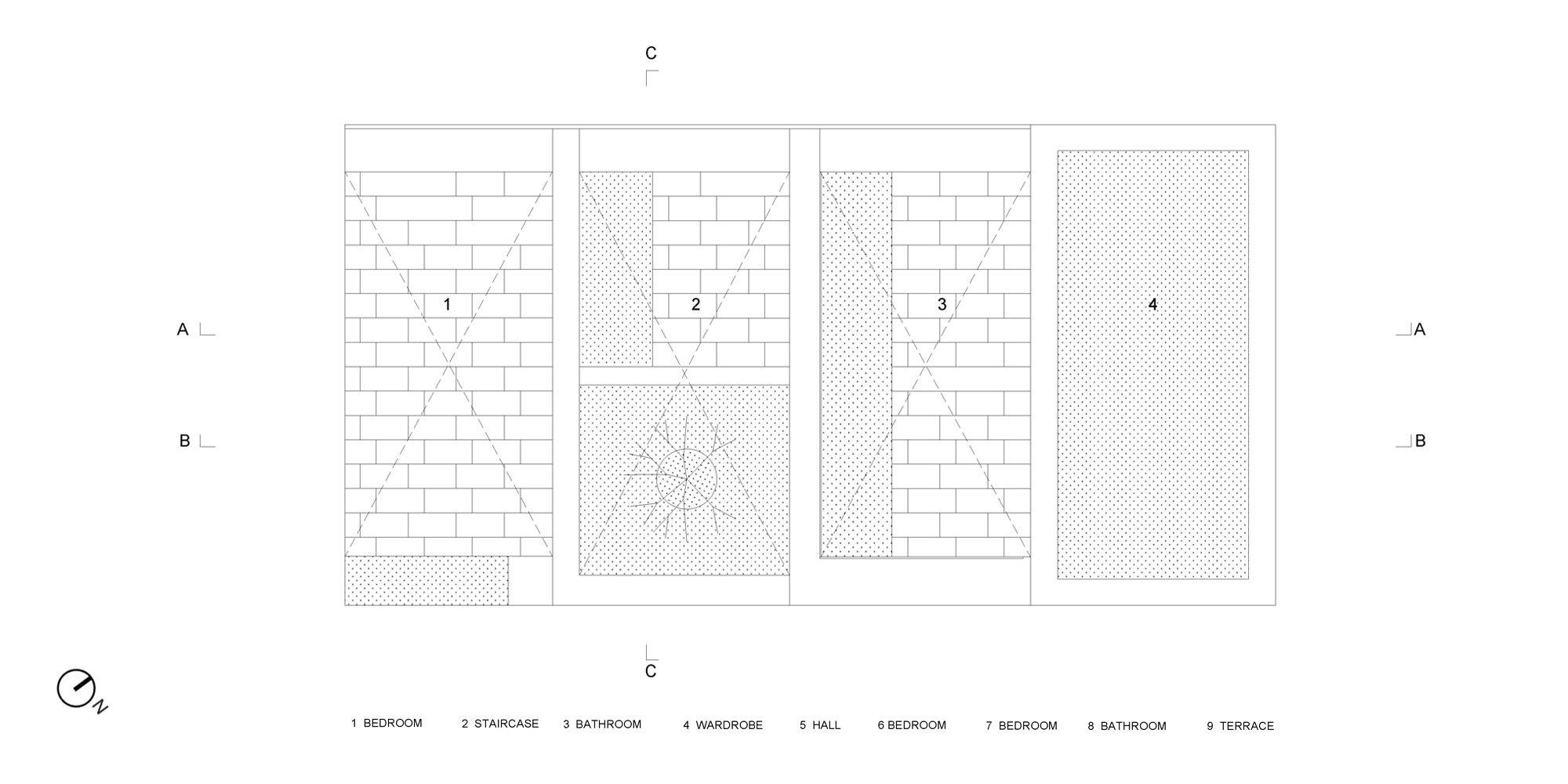 Roof plan © OFIS architekti