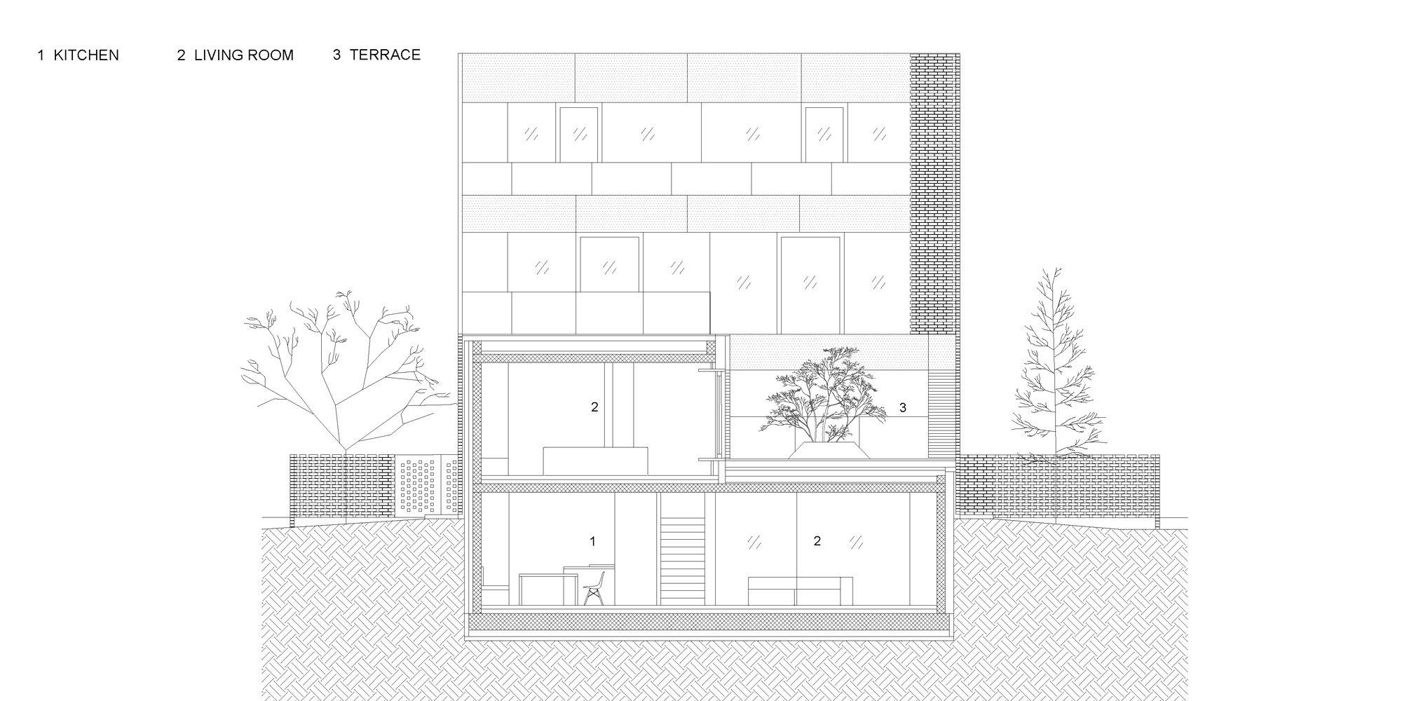 CC section © OFIS architekti
