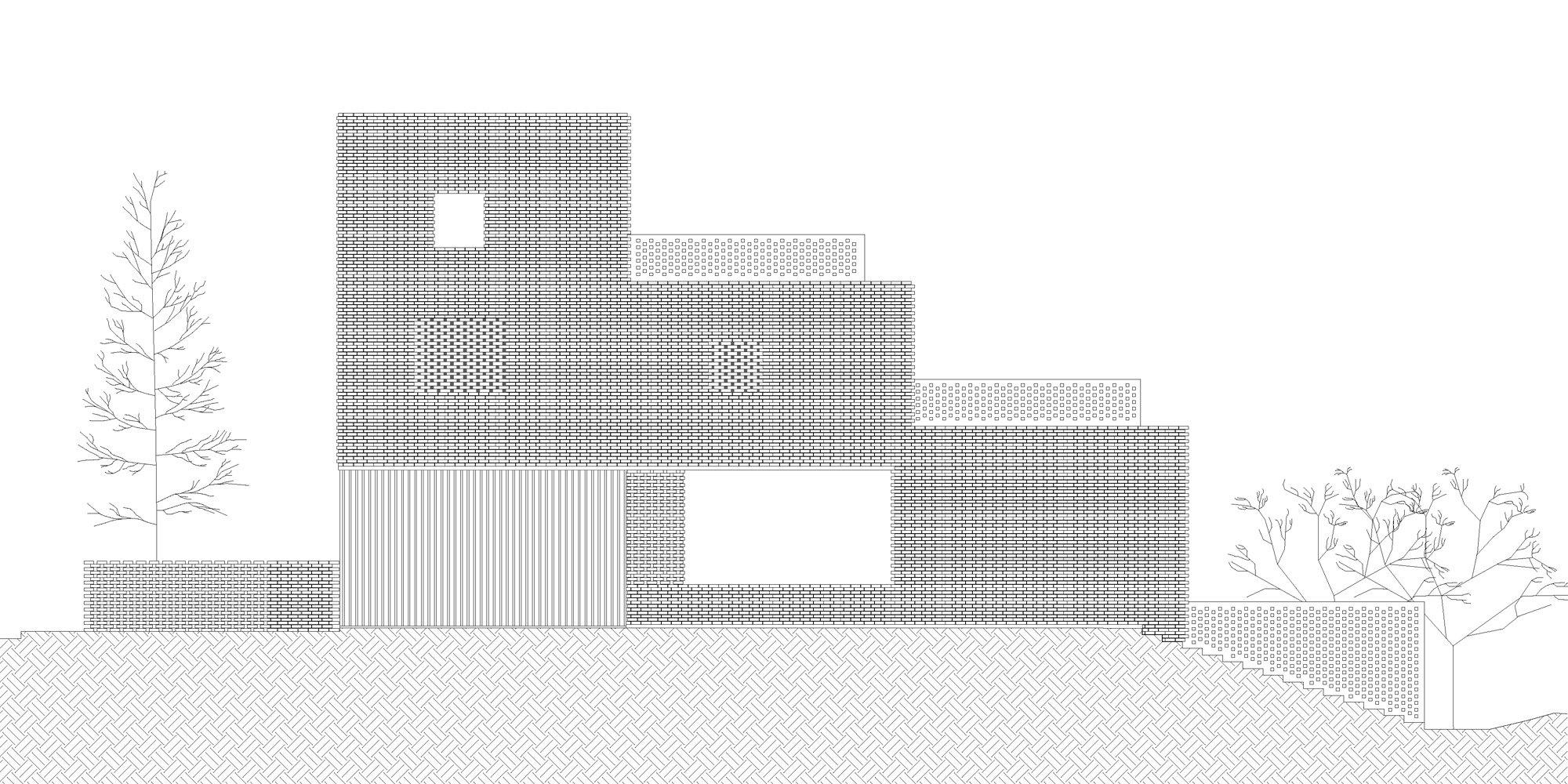 North elevation © OFIS architekti