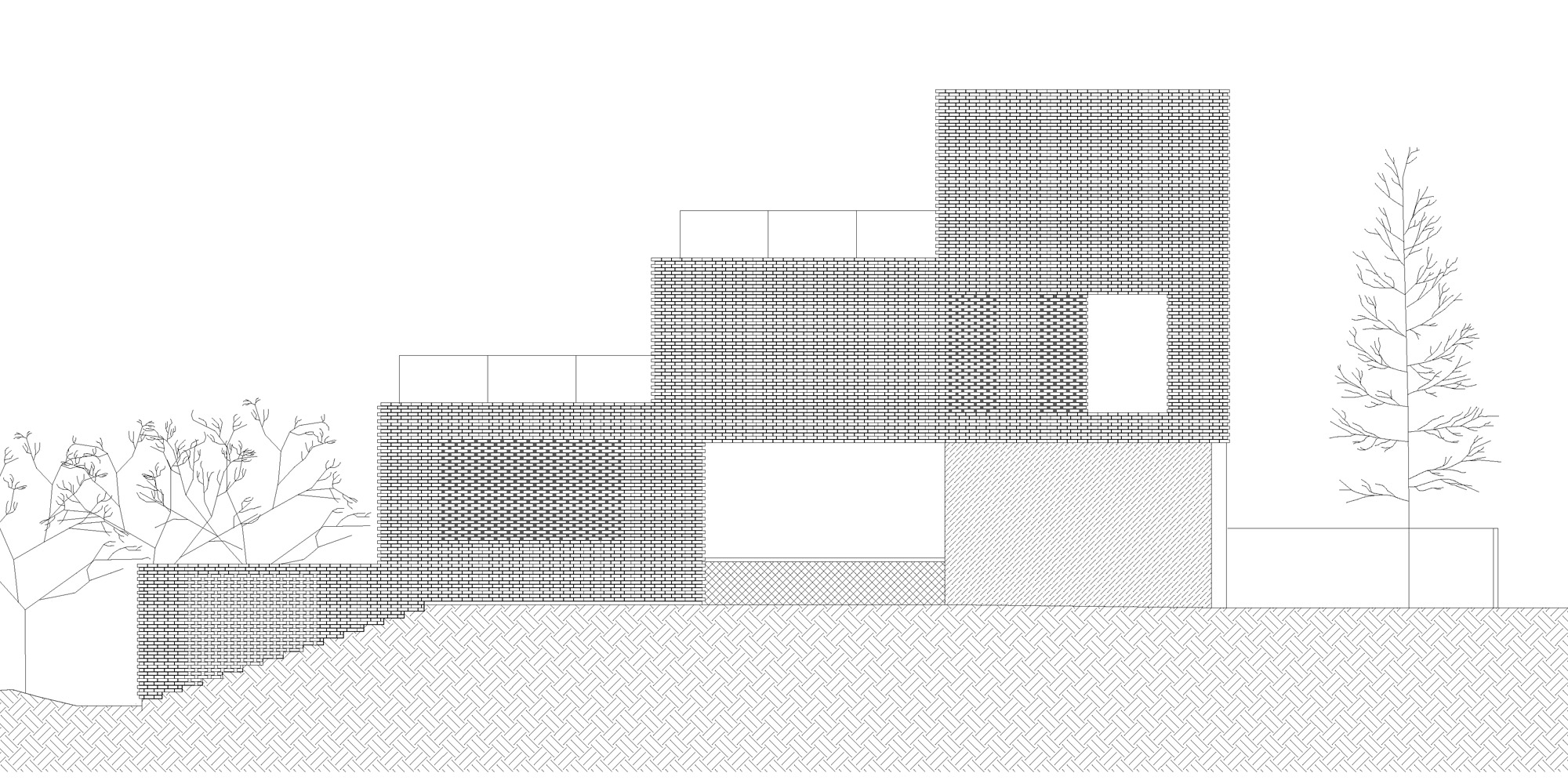 South elevation © OFIS architekti