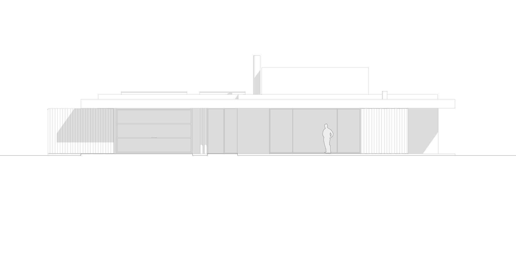 Prospetto Sud © Didonè Comacchio Architects