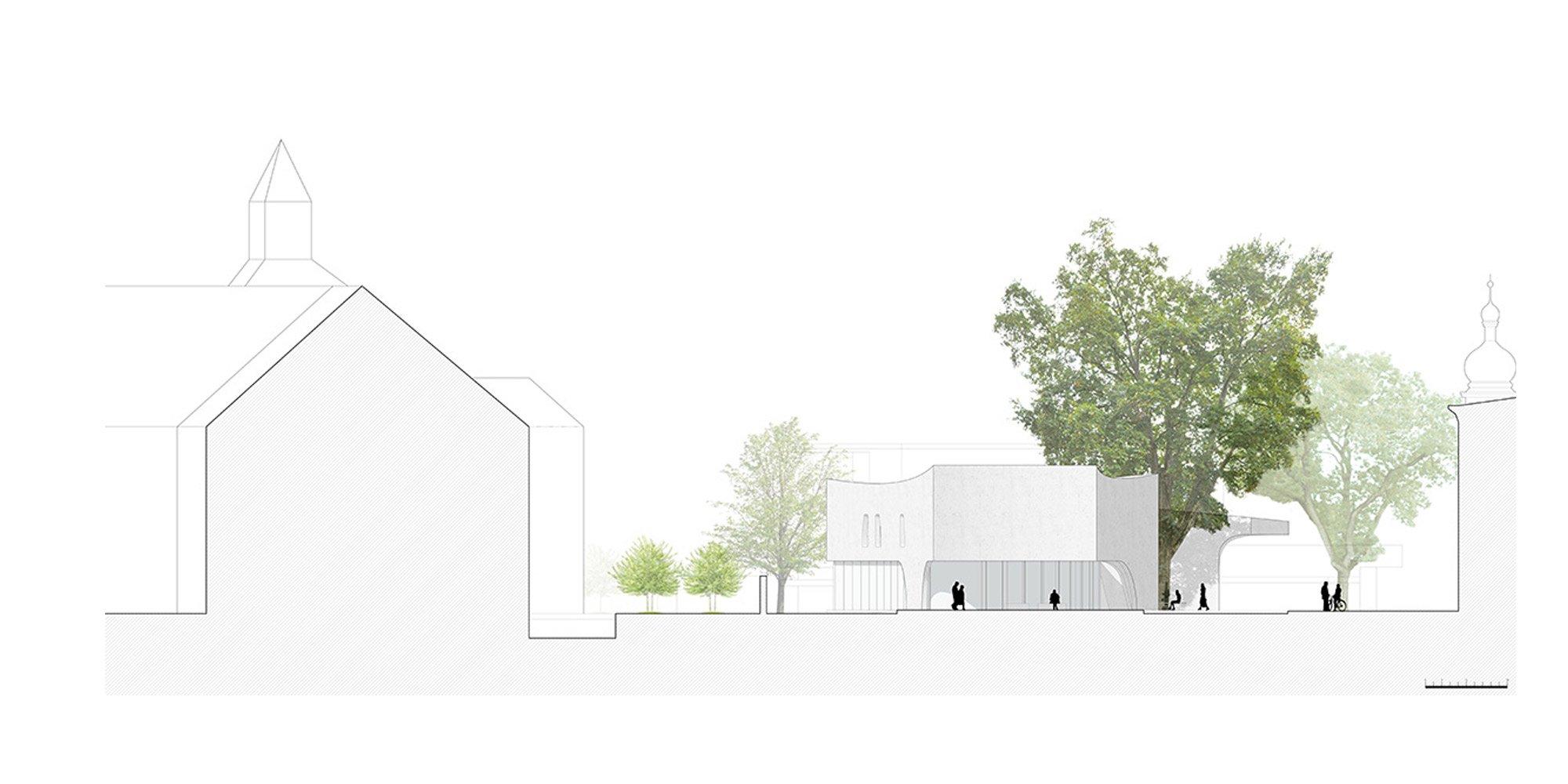 Prospetto nord © MoDus Architects