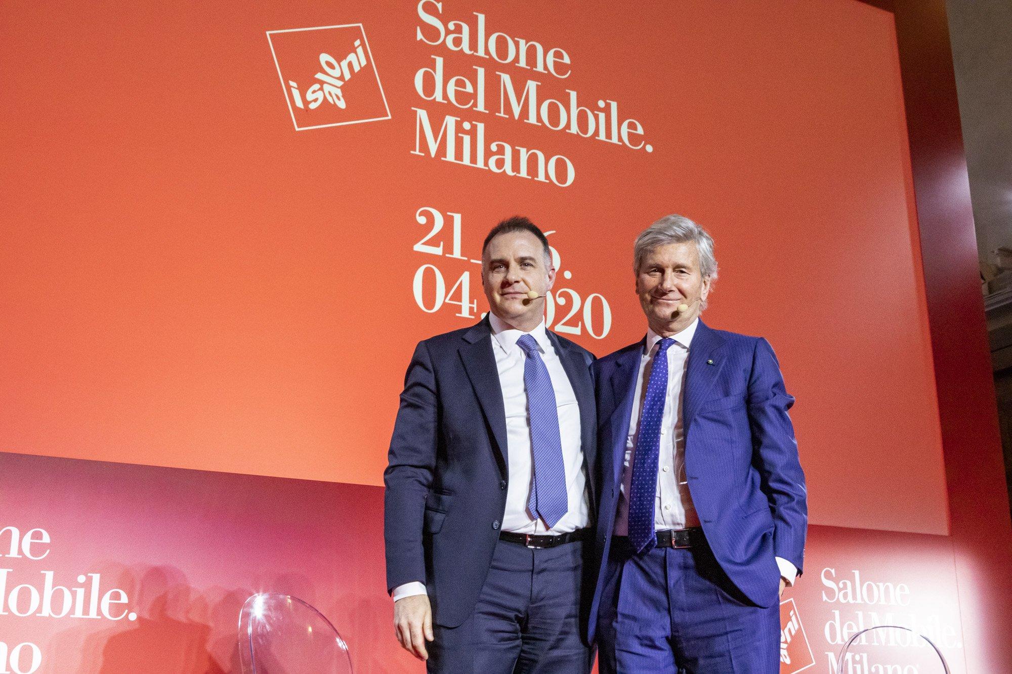 Conferenza stampa 59a edizione Salone del Mobile.Milano