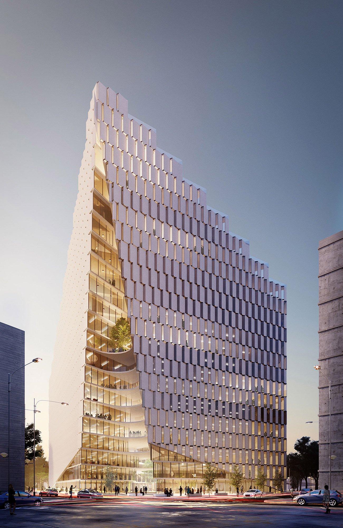 Ekspozita Building © Mario Cucinella Architects