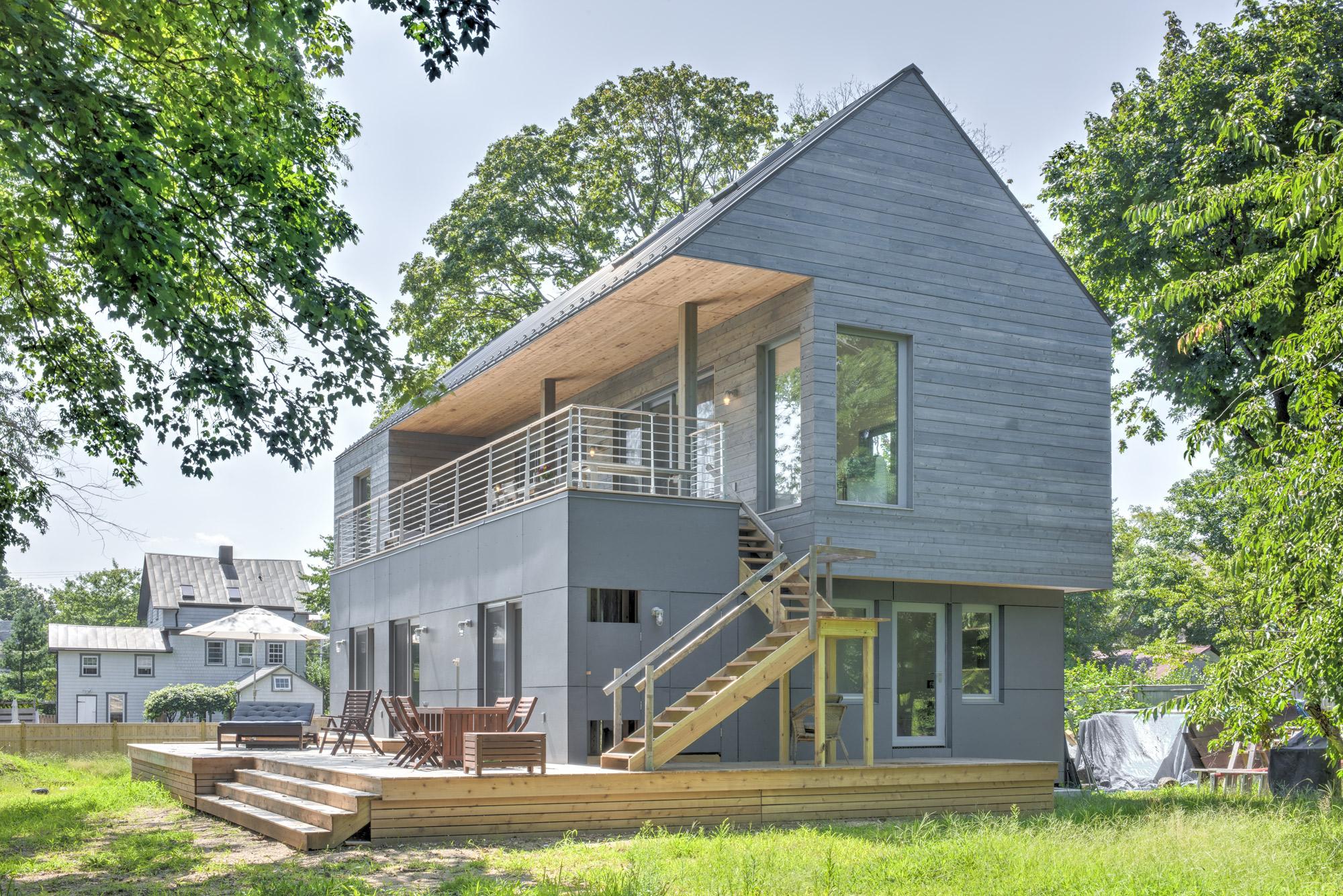 Greenport Passive House © Elizabeth Glasgow