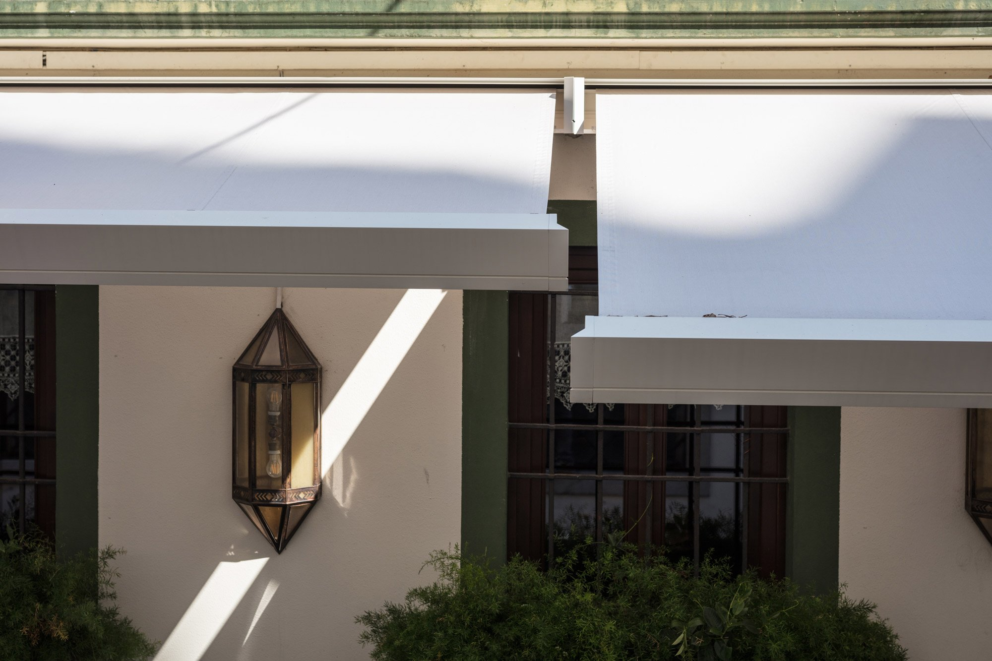T-Hide outdoor awnings by Pratic Courtesy Pratic