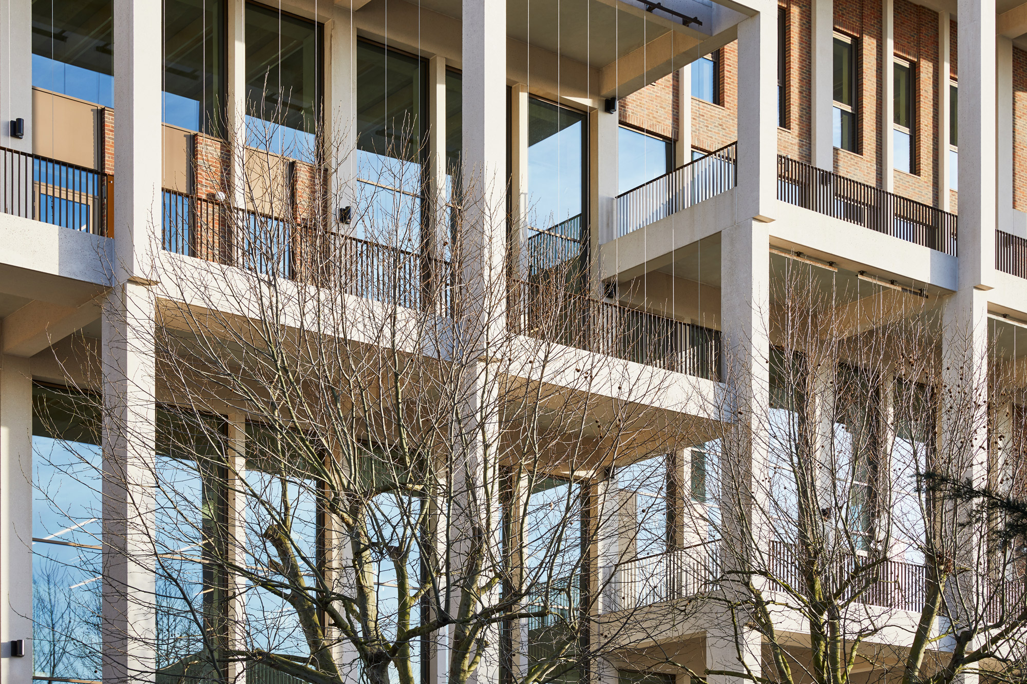 Town House di Grafton Architects © Ed Reeve, courtesy of Kingston University & Grafton Architects