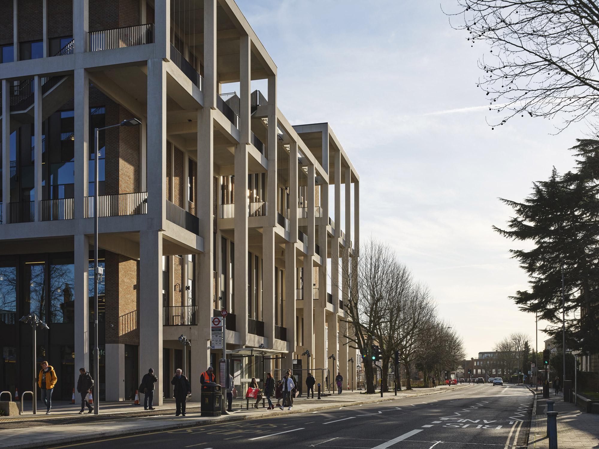 Town House di Grafton Architects © Dennis Gilbert, courtesy Grafton Architects
