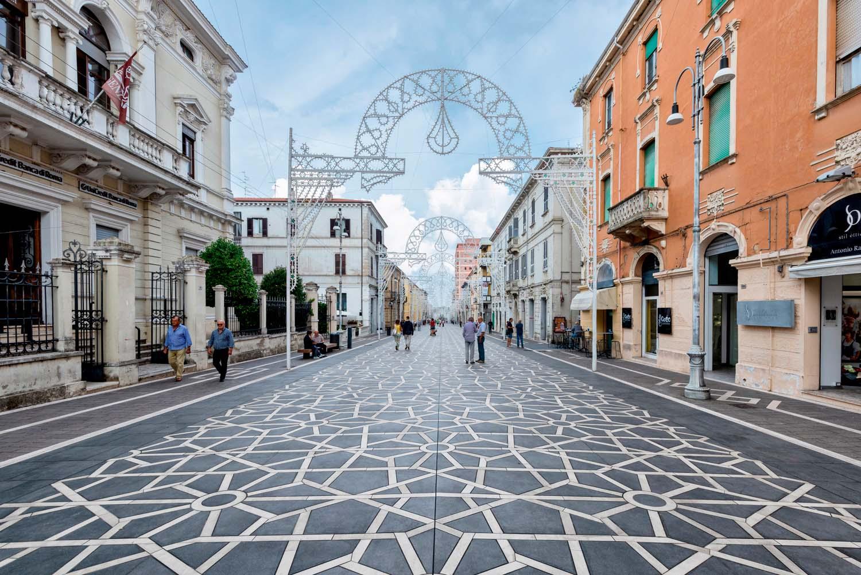 Corso Trento e Trieste © Maurizio Alecci, courtesy Marazzi Group