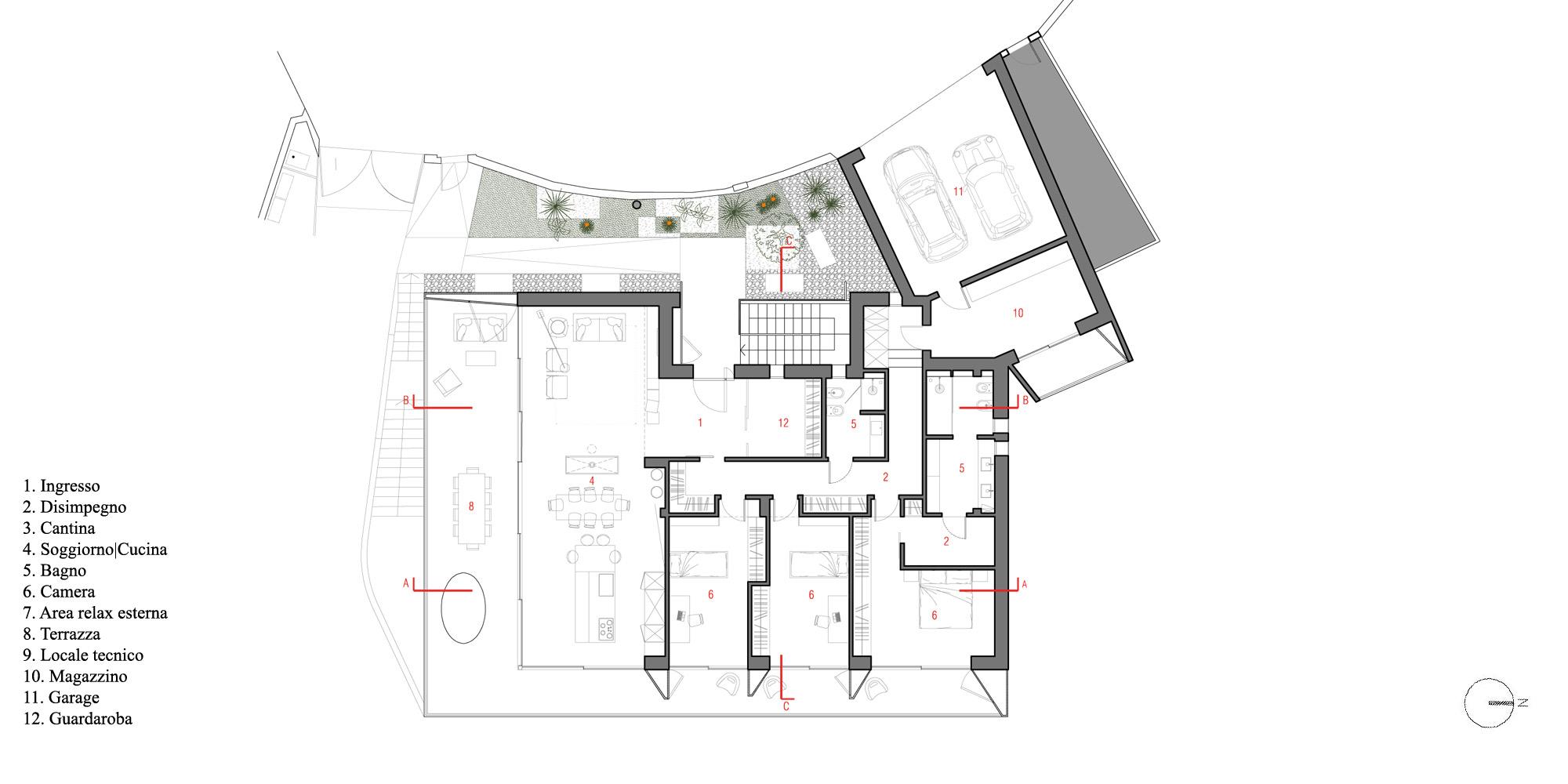First floor plan © A+I
