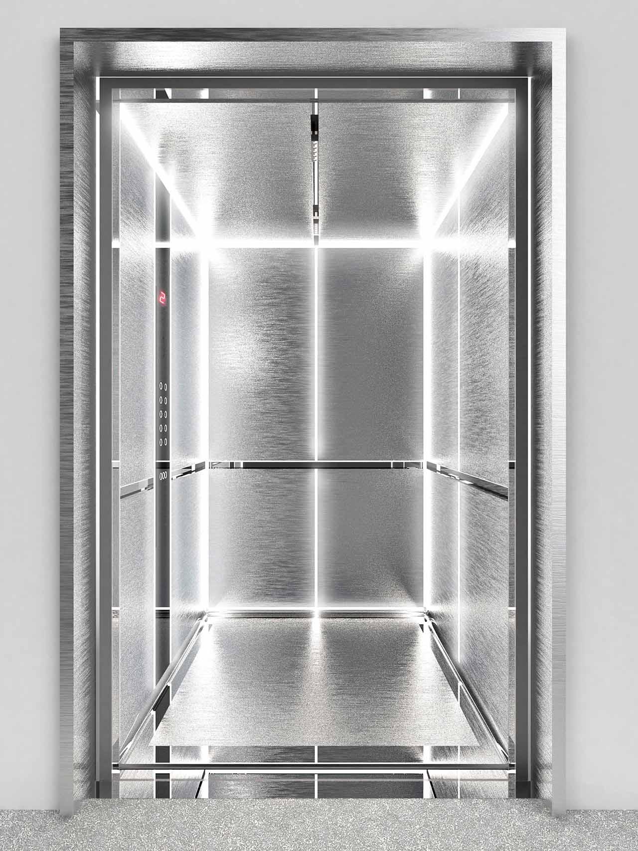 spirazione tecnologica per il rivestimento in alluminio