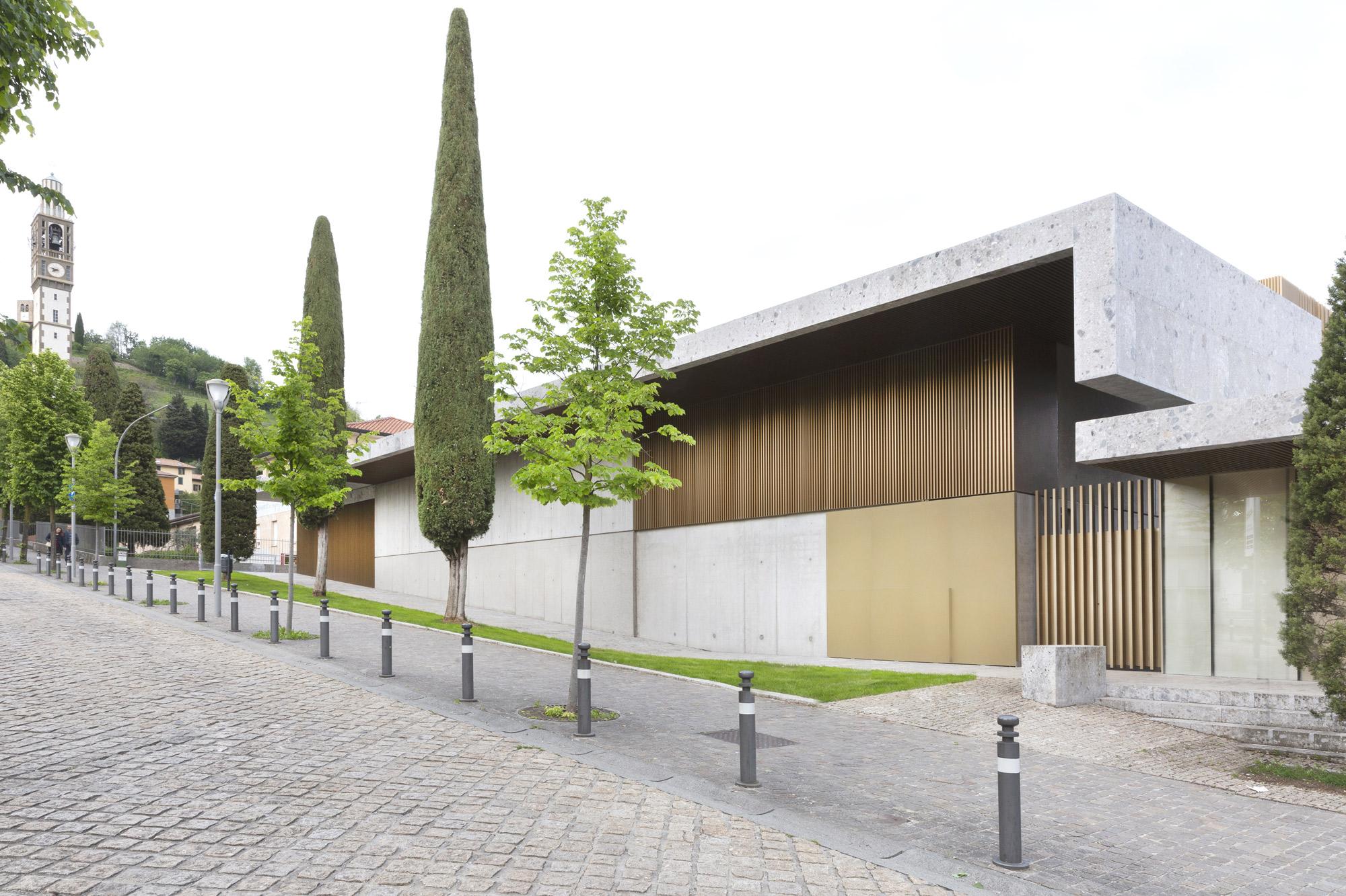 Teatro Papa Giovanni XXIII © Giovanni Nardi