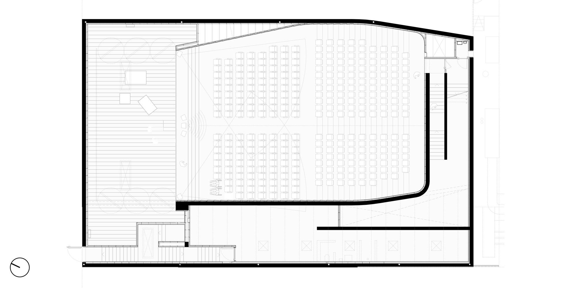 Pianta piano primo © PBeB Architetti