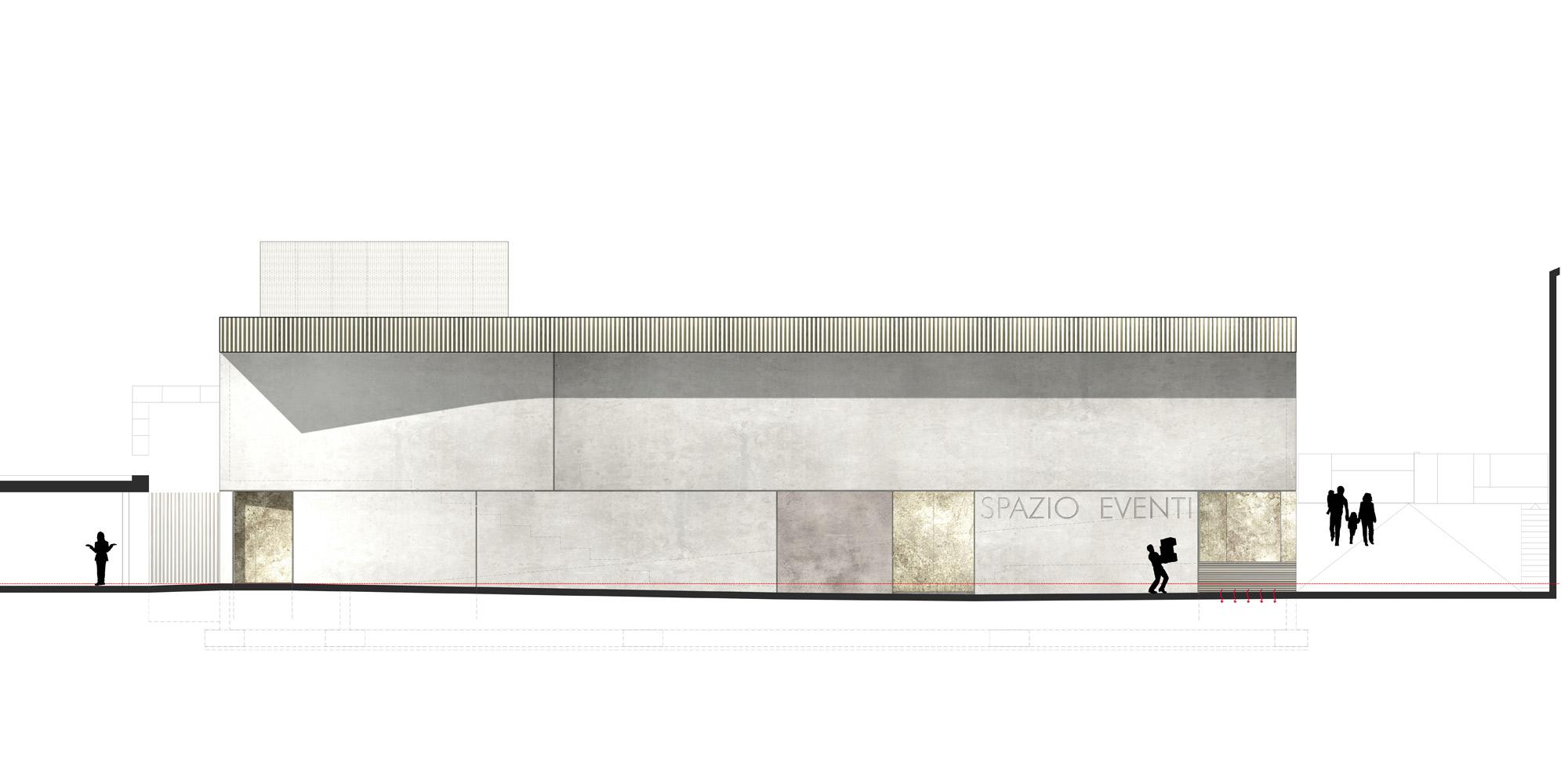 Prospetto est © PBeB Architetti