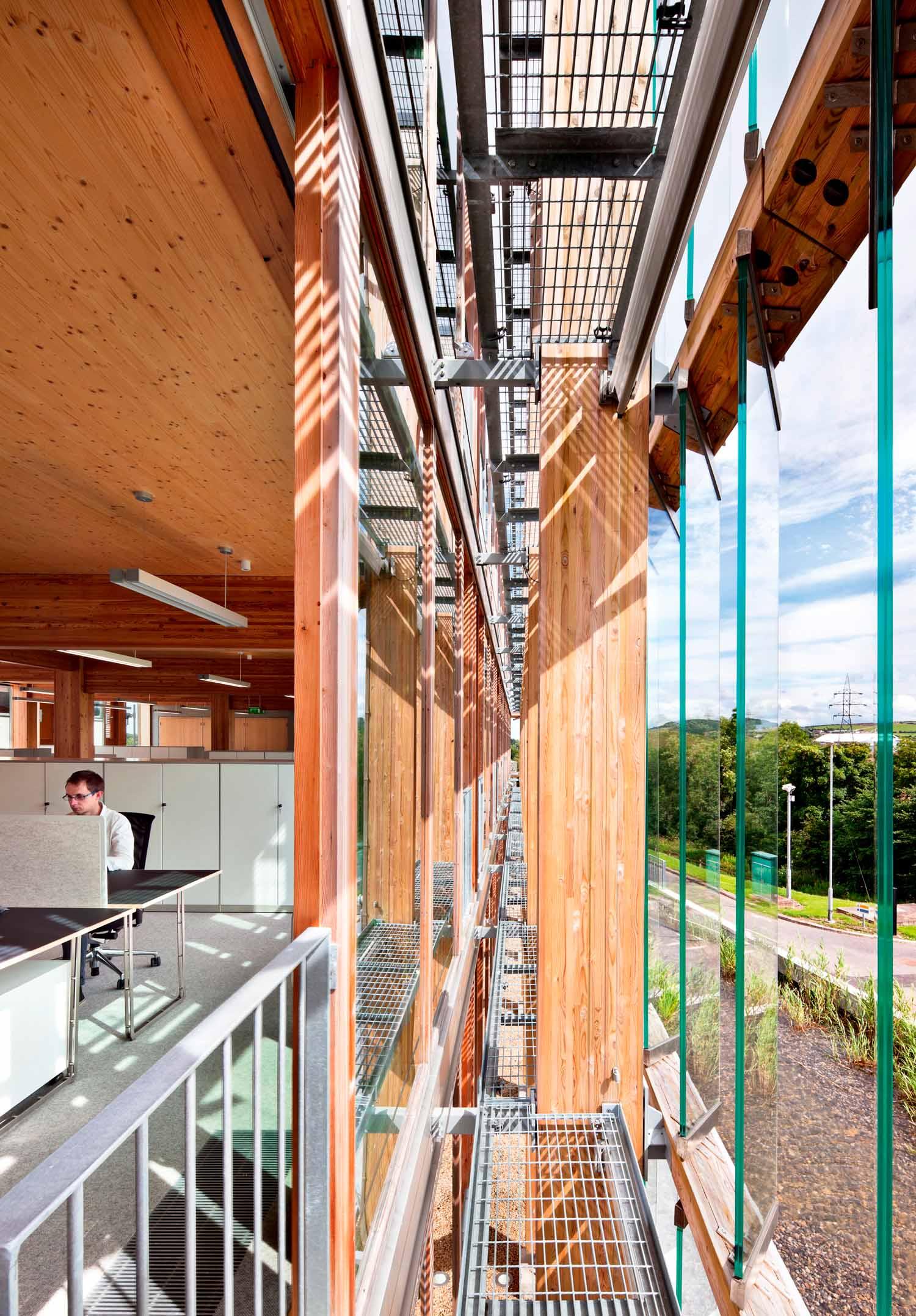 Centro operativo e di manutenzione comunale, progetto in collaborazione con l'ufficio tecnico della contea di Dun Laoghaire Rathdown, Ballyogan, Irlanda, 2012