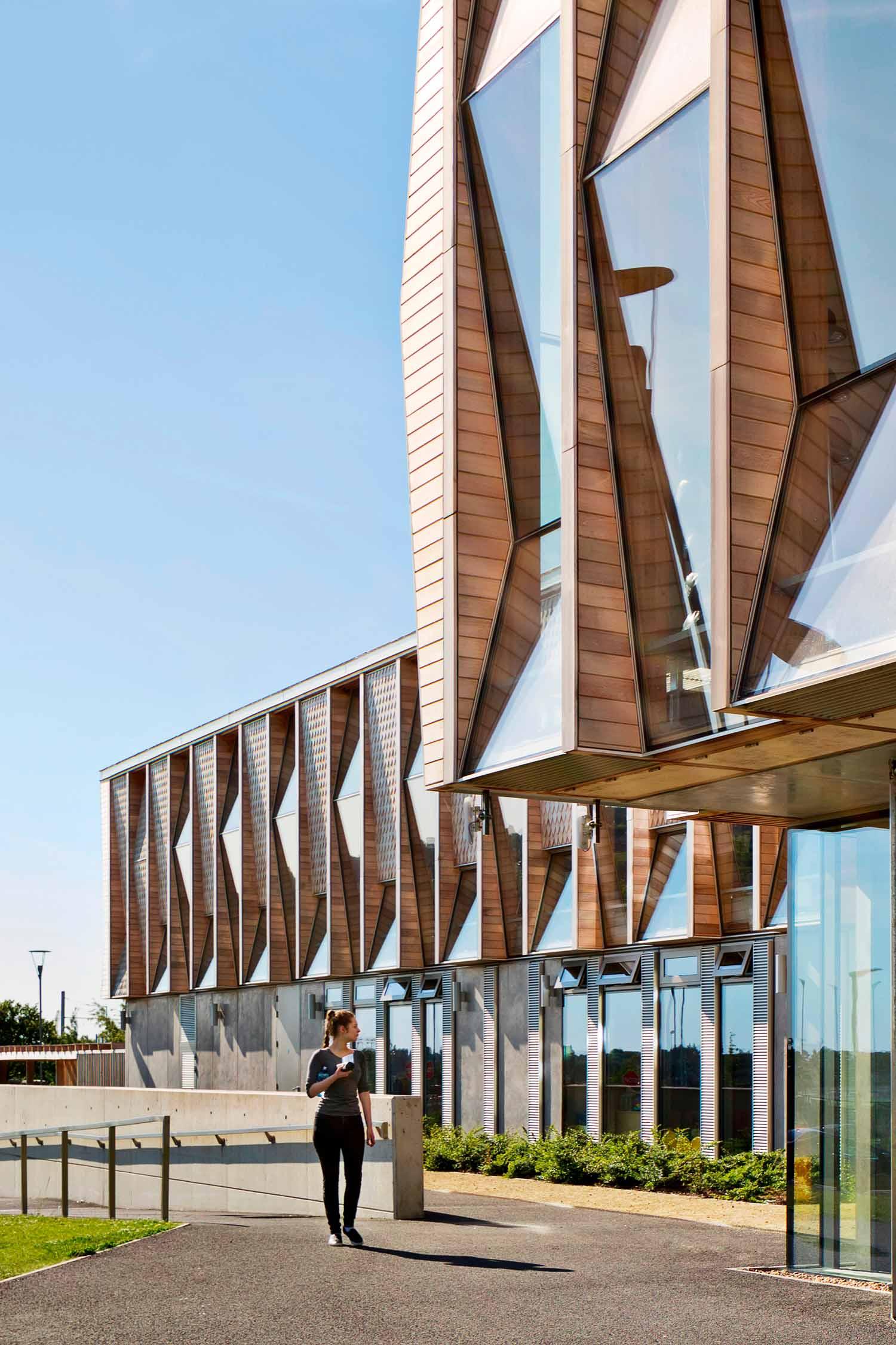 Centro comunitario multifunzionale Samuel Beckett, Dublino, Irlanda, 2016