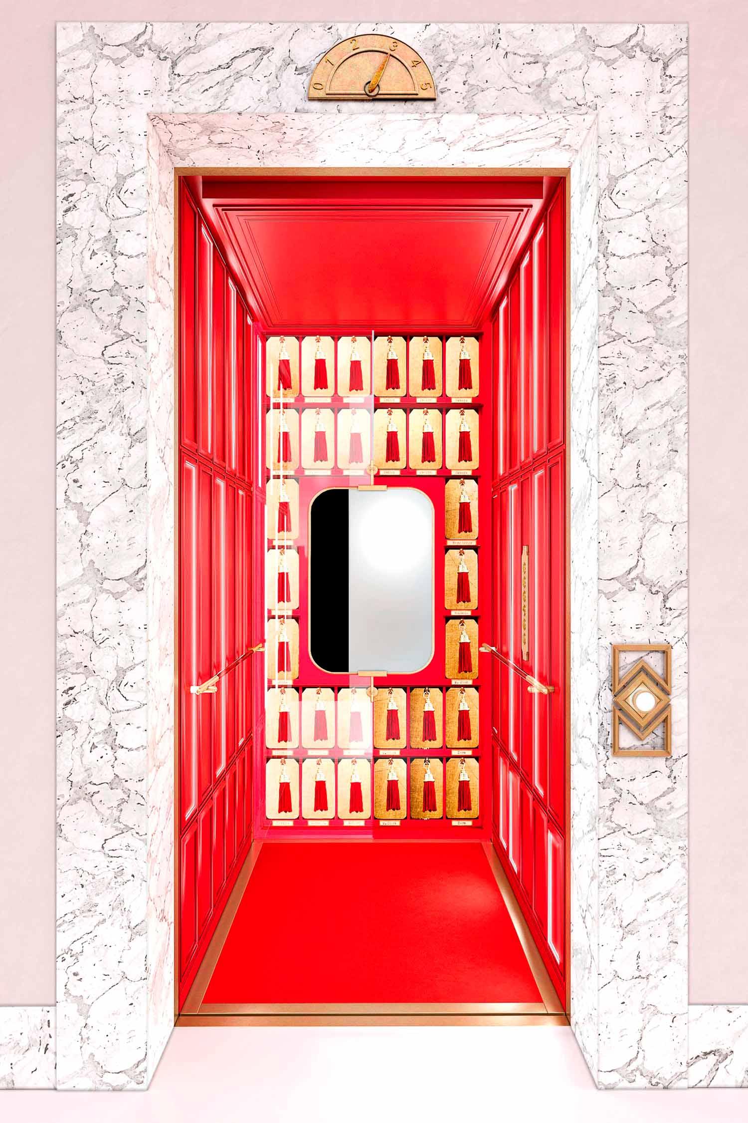 Courtesy IGV Group Linea Ad Hoc, Cabina ascensore Pop Up, CaberlonCaroppi
