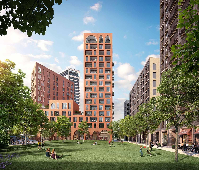 Cadence King's Cross, London, Alison Brooks Architects_ph.: V1 Visualisation