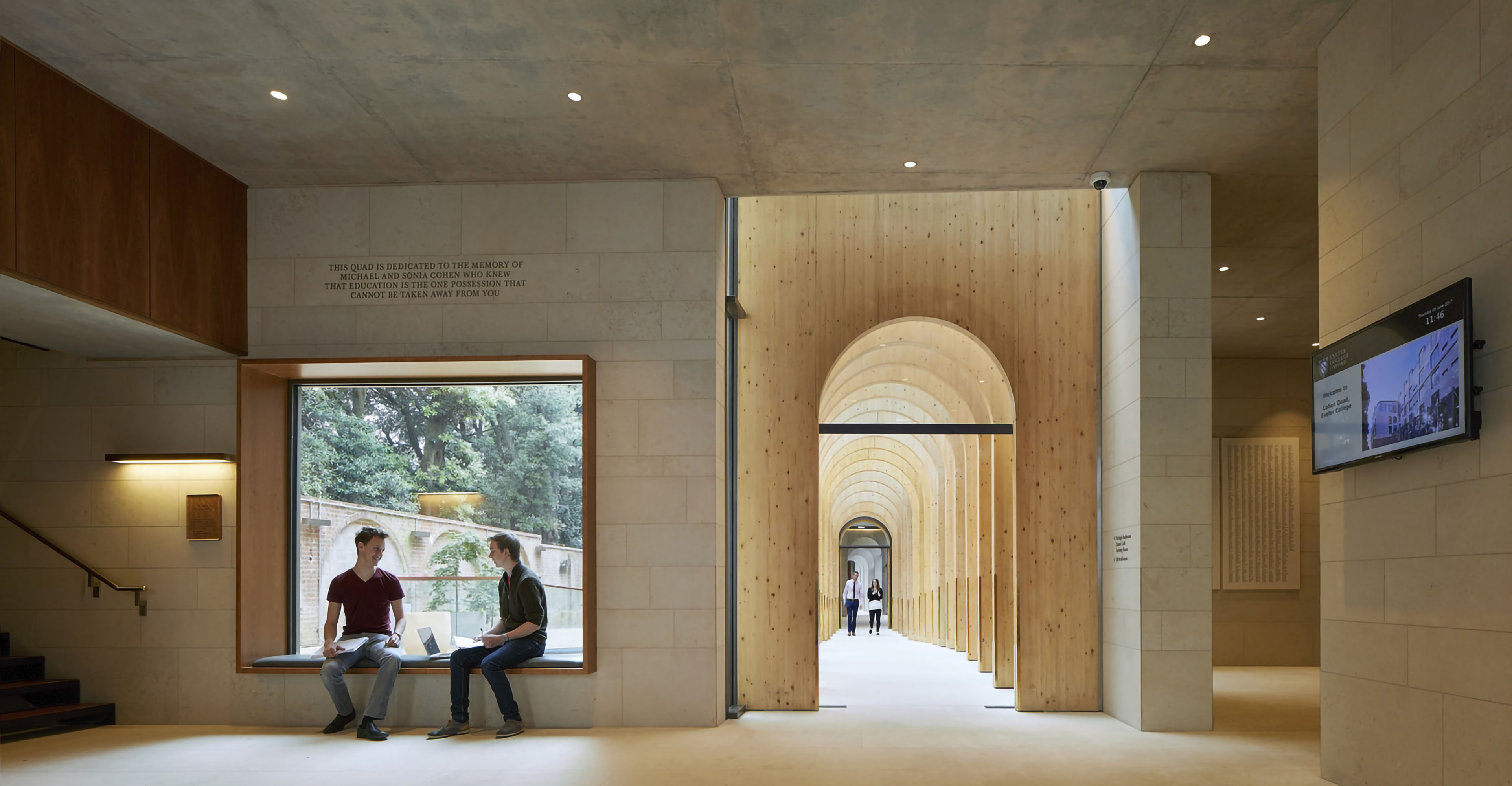 Exeter College Cohen Quad Oxford, Alison Brooks Architects_ph.: Hufton+Crow