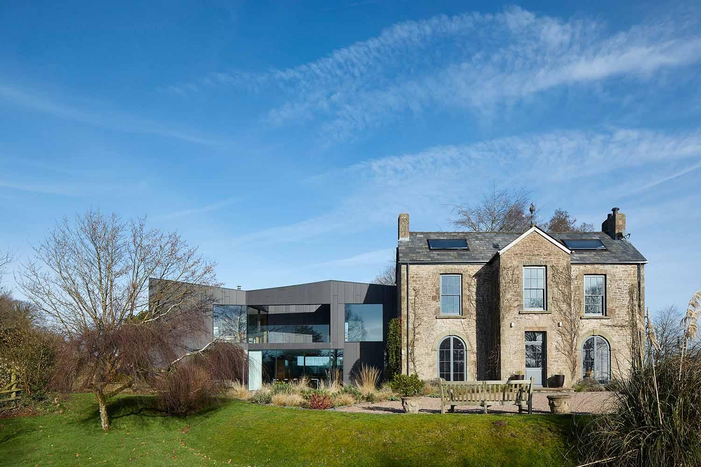 Windward House, Gloucestershire, Alison Brooks Architects_ph.: Paul Riddle