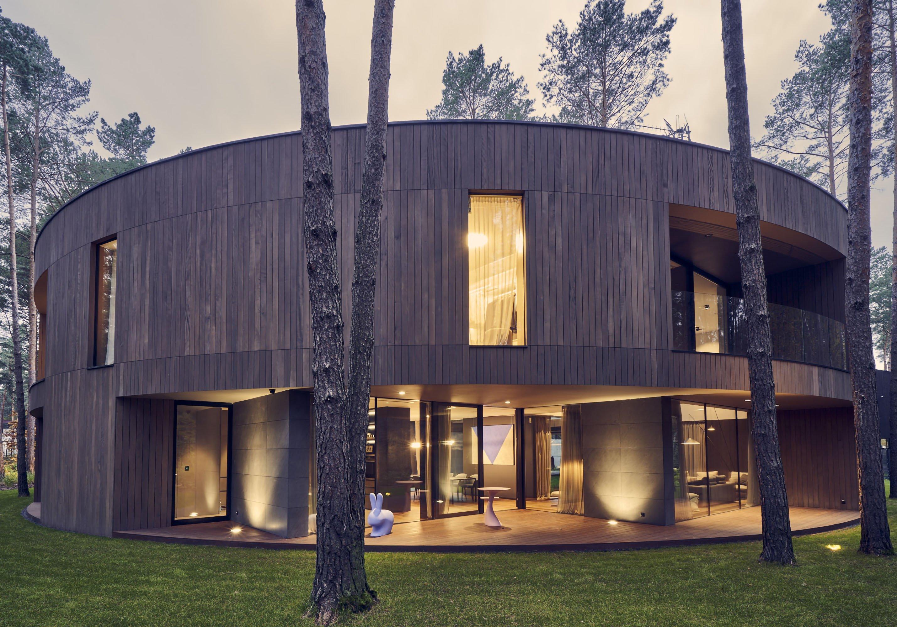 Circle Wood - Paweł Ulatowski  - Przemek Olczyk Mobius Architekci