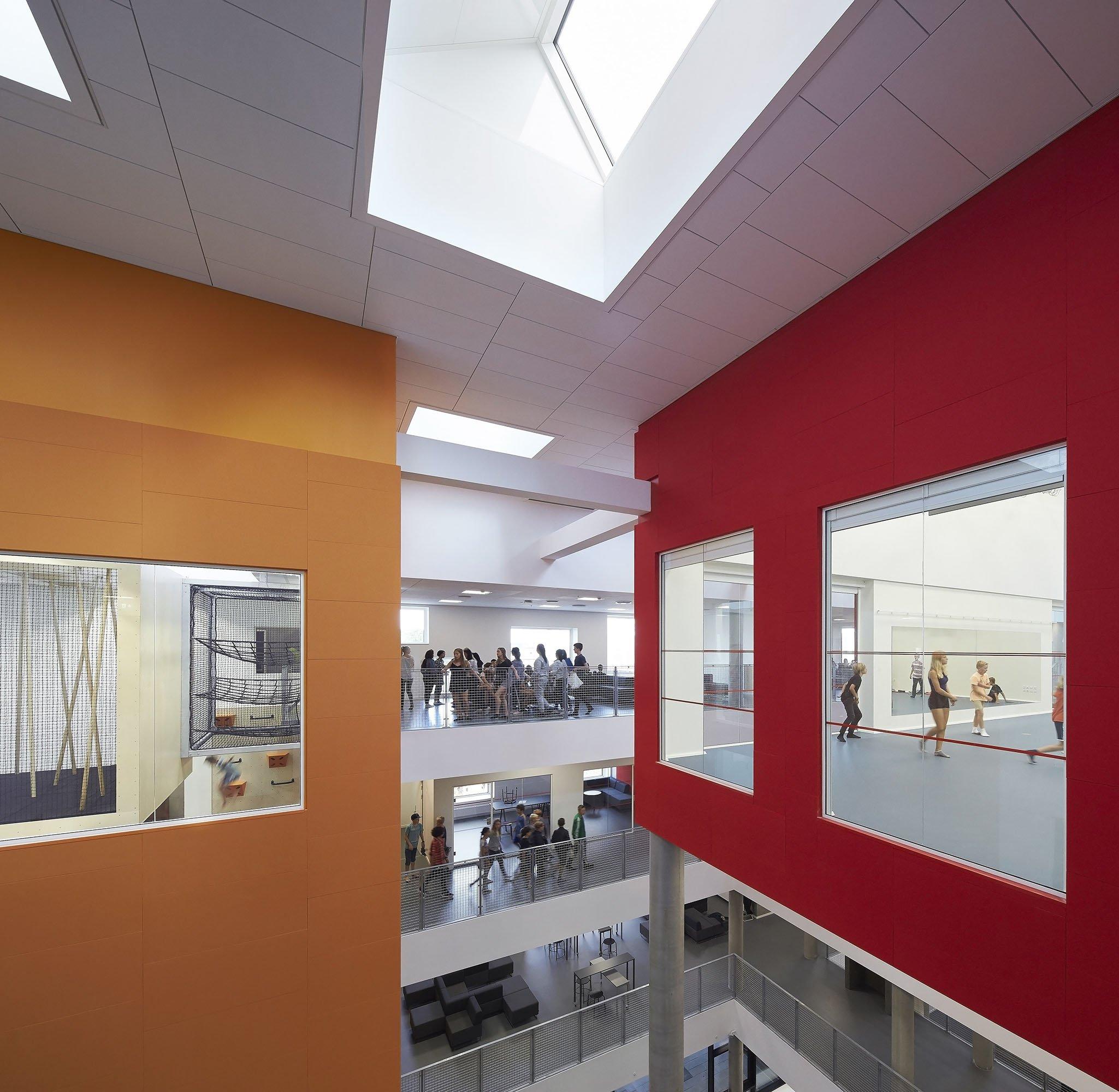 Frederiksbjerg School, Henning Larsen Architects_ph.: Hufton and Crow