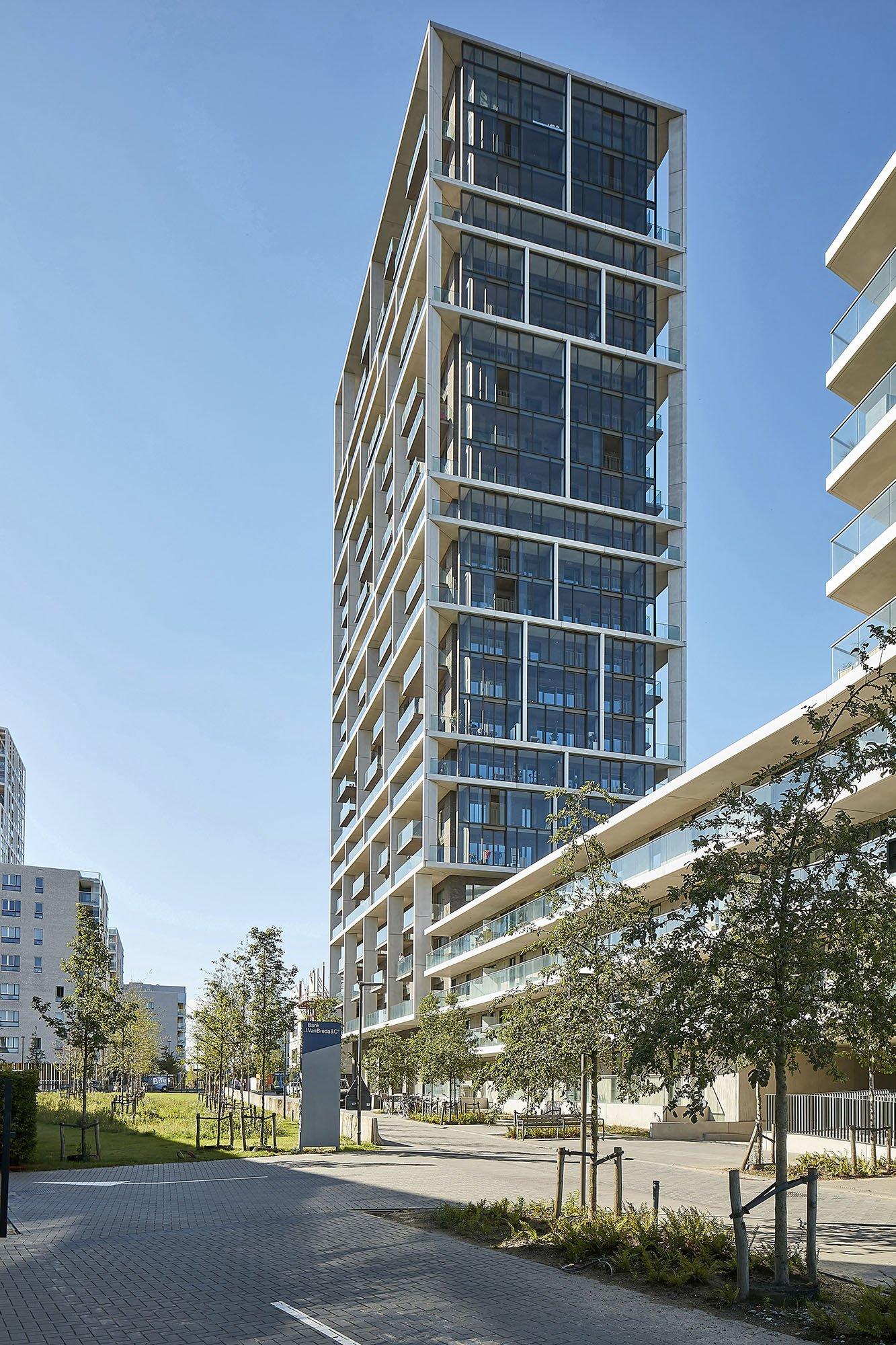 Antwerpen Tower, C.F. Møller Architects_ph.: SNfoto