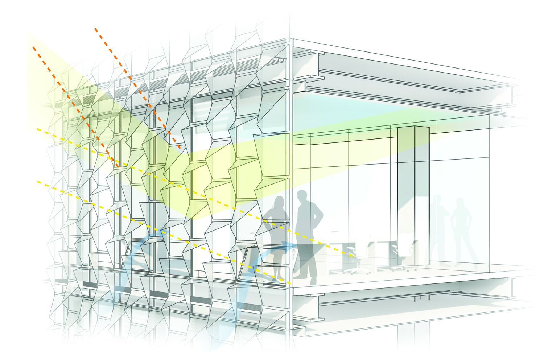 Prestazione bioclimatica della facciata
