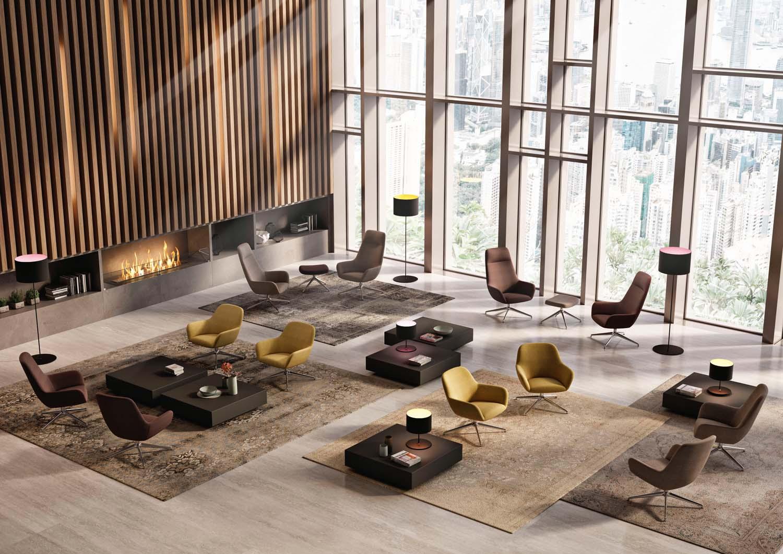 Foto courtesy Quadrifoglio Group Poltrona City Lounge
