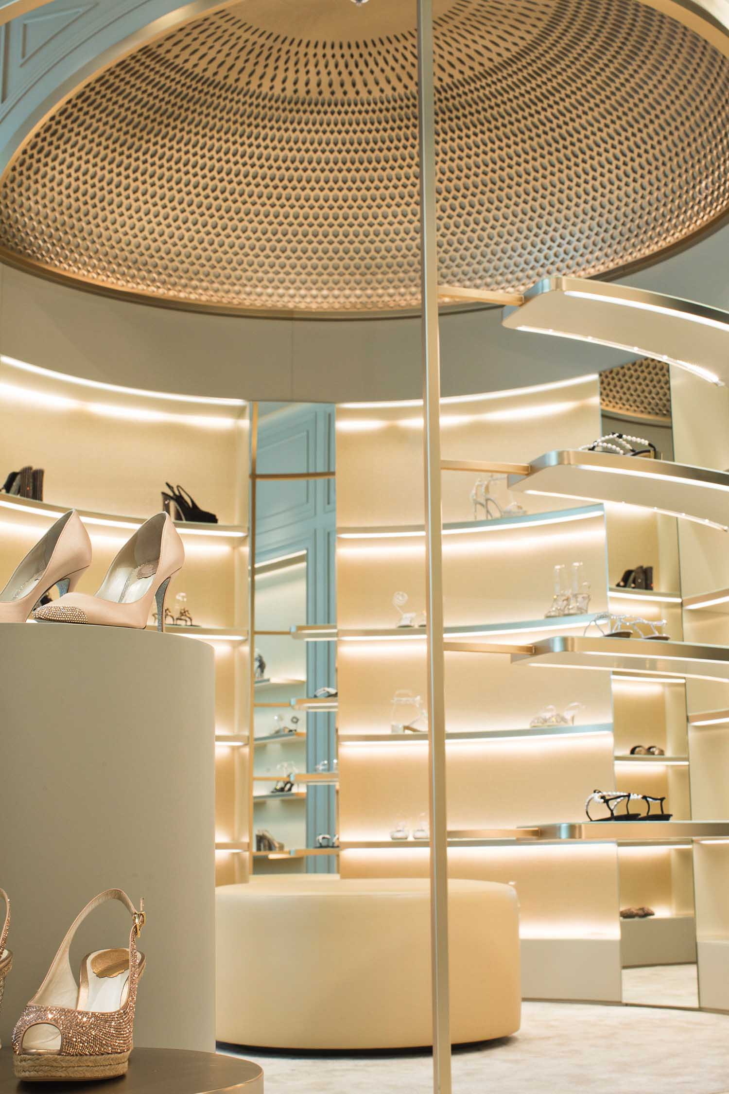 Boutique di René Caovilla, Dubai, EAU - © Courtesy Caovilla