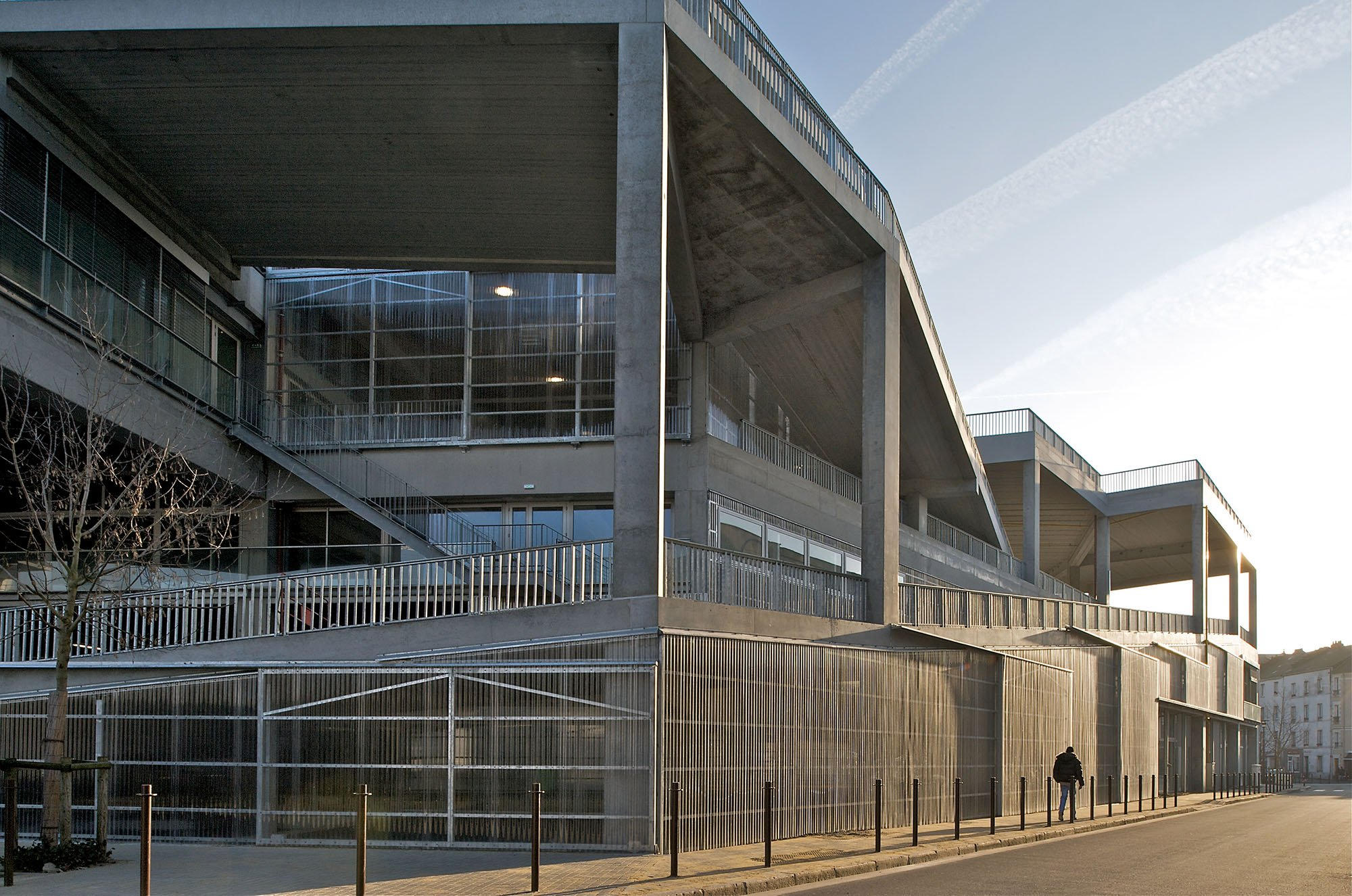 École Nationale Supérieure d'Architecture de Nantes, photo courtesy of Philippe Ruault