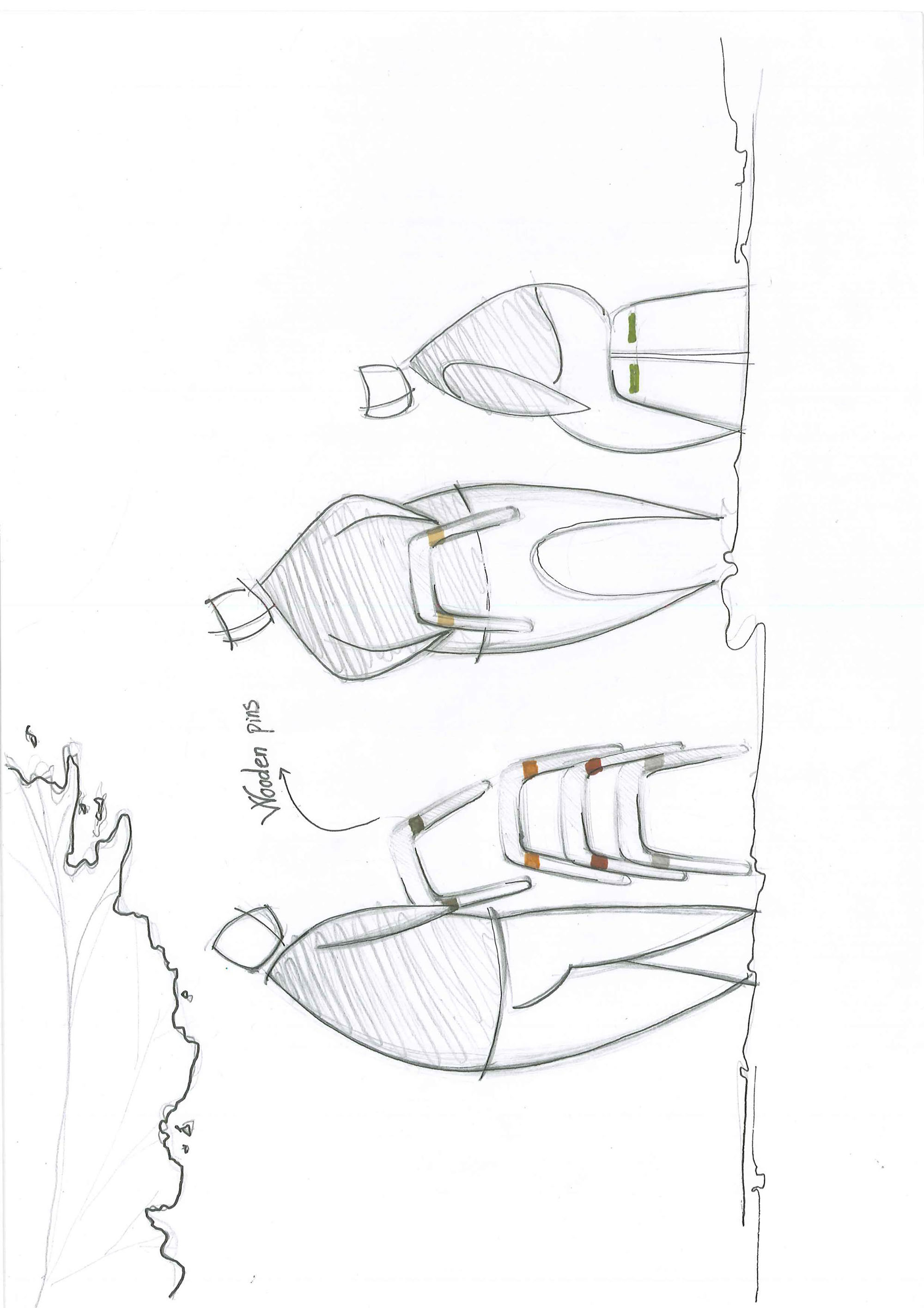 Trang Nguyen_The Roof Stool_Sketches 1