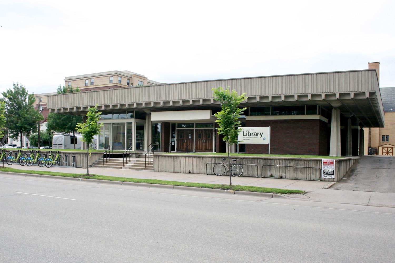 State Capitol Credit Union (ora Arvonne Fraser Library), Minneapolis, MN, USA, 1963. Foto di Jeramey Jannene / Wikimedia Commons. Immagine con licenza CC-BY-2.0