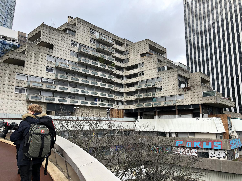 Foto di Anika Schwarzwald, courtesy Studio Gang Jeanne Gang e i suoi studenti di Harvard hanno analizzato alcuni edifici brutalisti, il loro potenziale programmatico e formale e la loro possibile trasformazione estetica