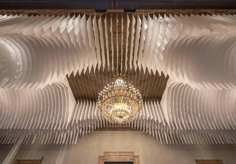 il foyer Respighi del Teatro Comunale di Bologna