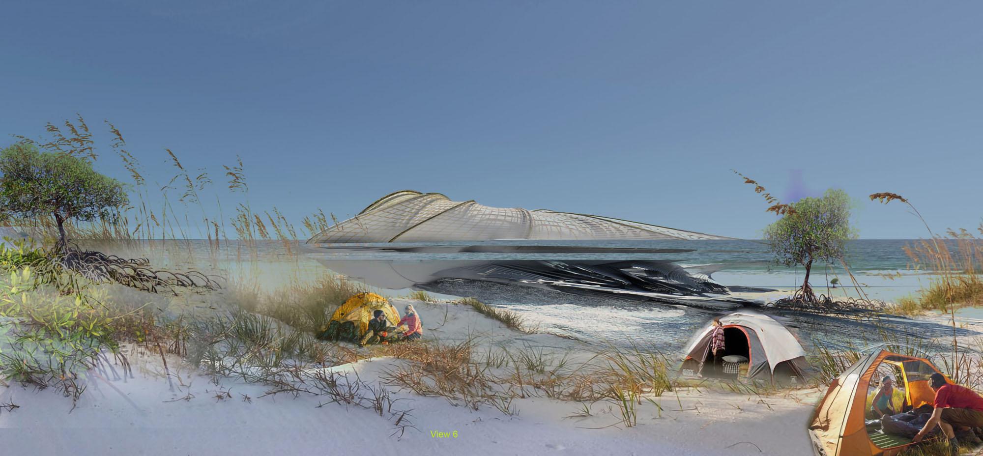 Recycled Ocean Plastic Resort - Photo Margot Krasojević